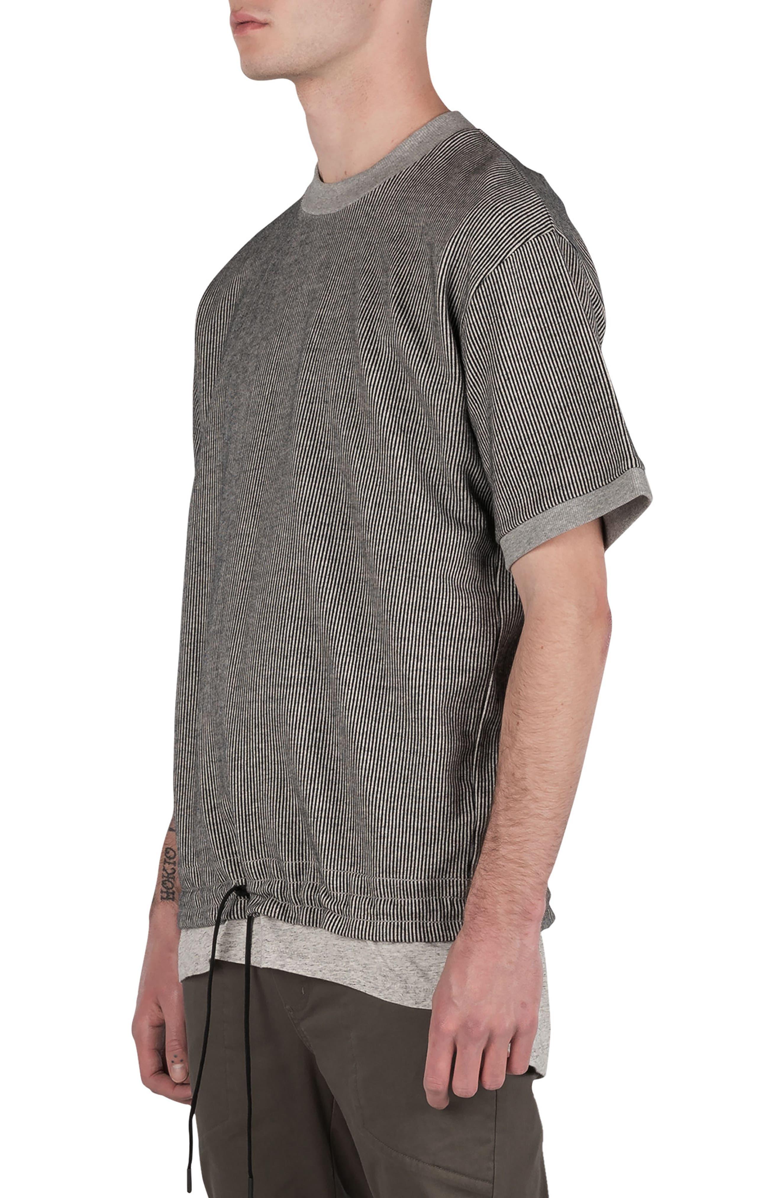 Stripe Box Sweatshirt,                             Alternate thumbnail 5, color,                             050