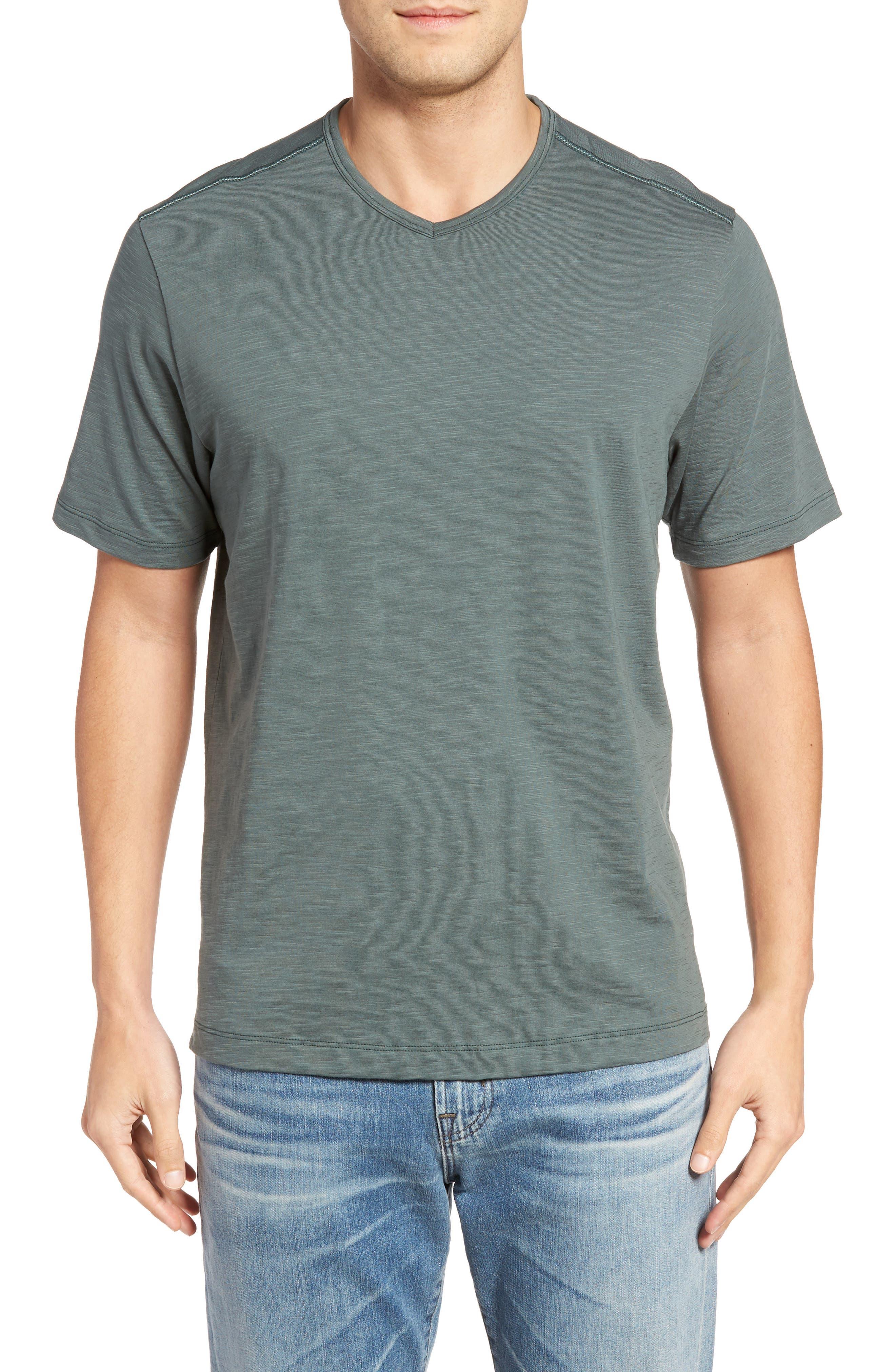 'Portside Player' Pima Cotton T-Shirt,                             Main thumbnail 5, color,