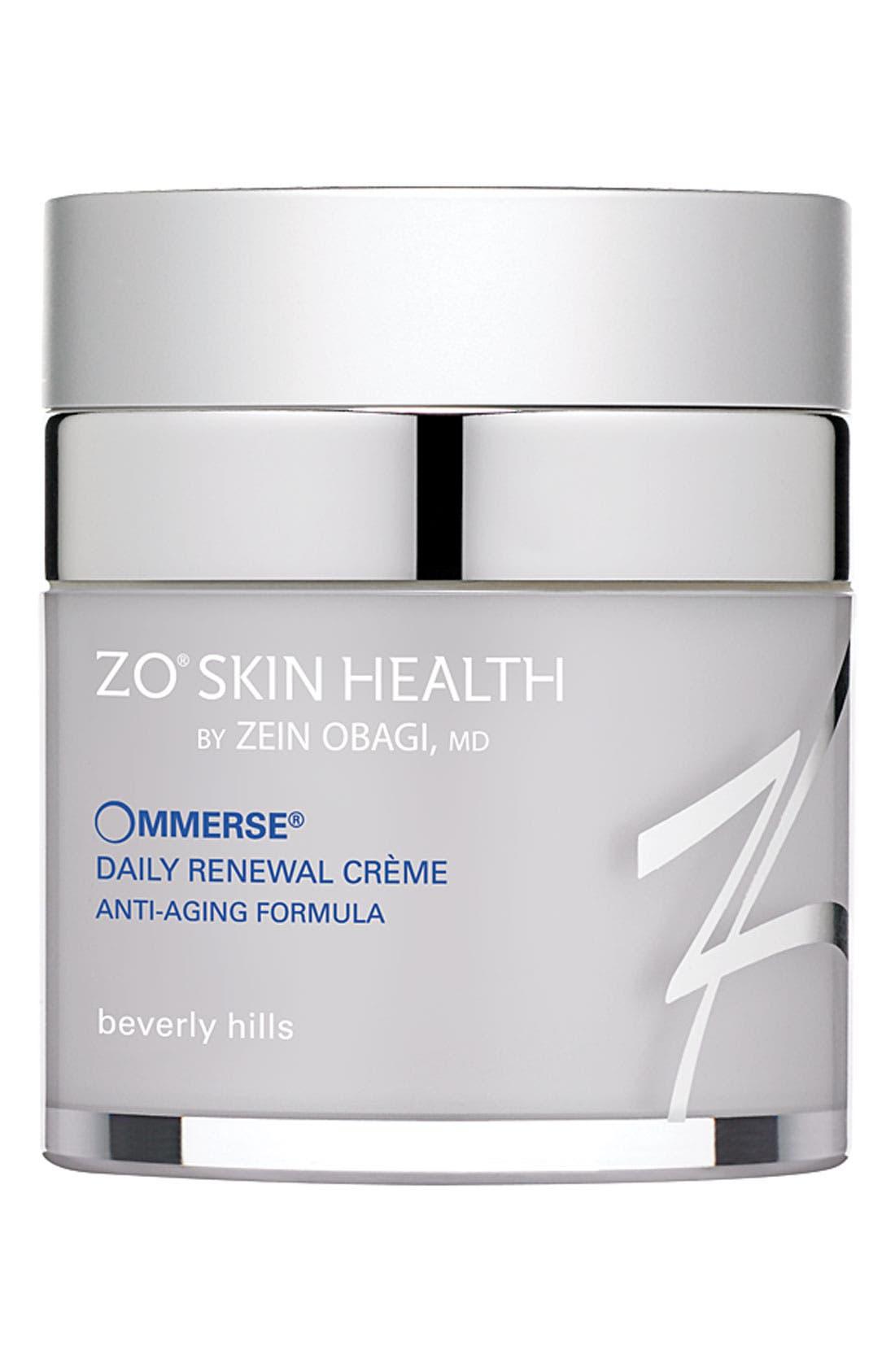 ZO Skin Health<sup>™</sup> 'Ommerse<sup>™</sup>' Daily Renewal Crème,                             Main thumbnail 1, color,                             000