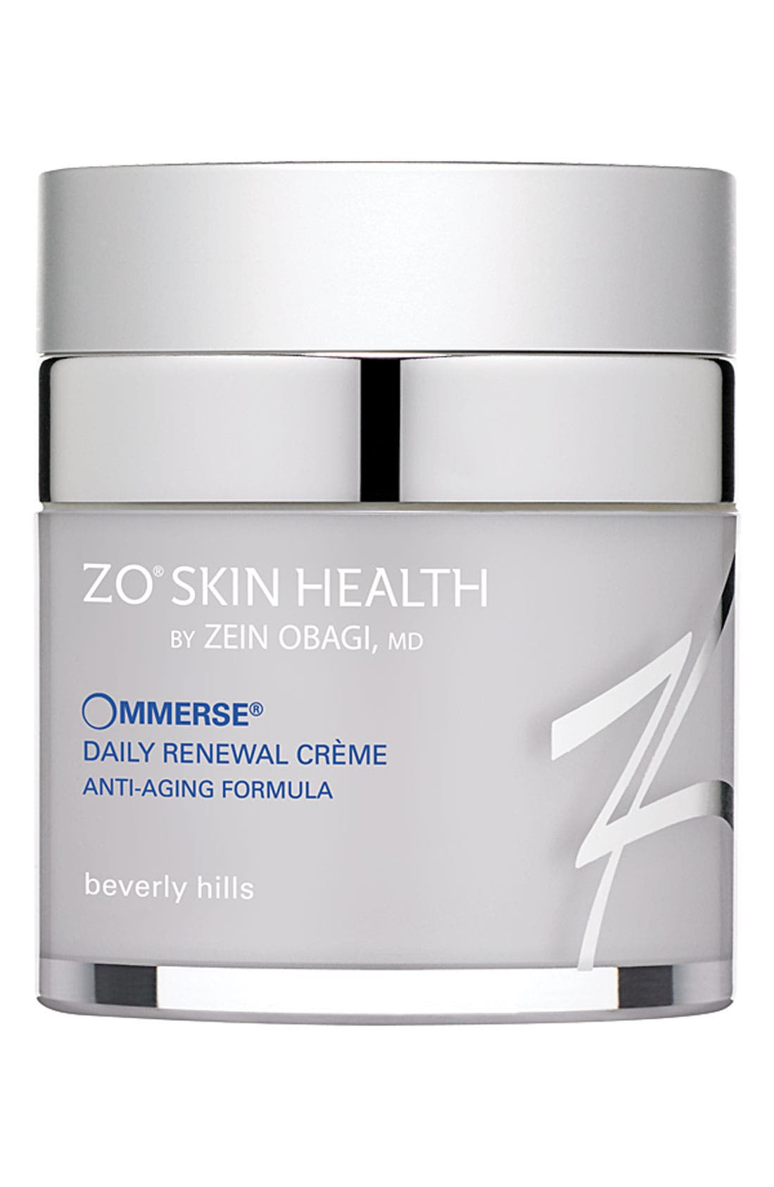 ZO Skin Health<sup>™</sup> 'Ommerse<sup>™</sup>' Daily Renewal Crème, Main, color, 000