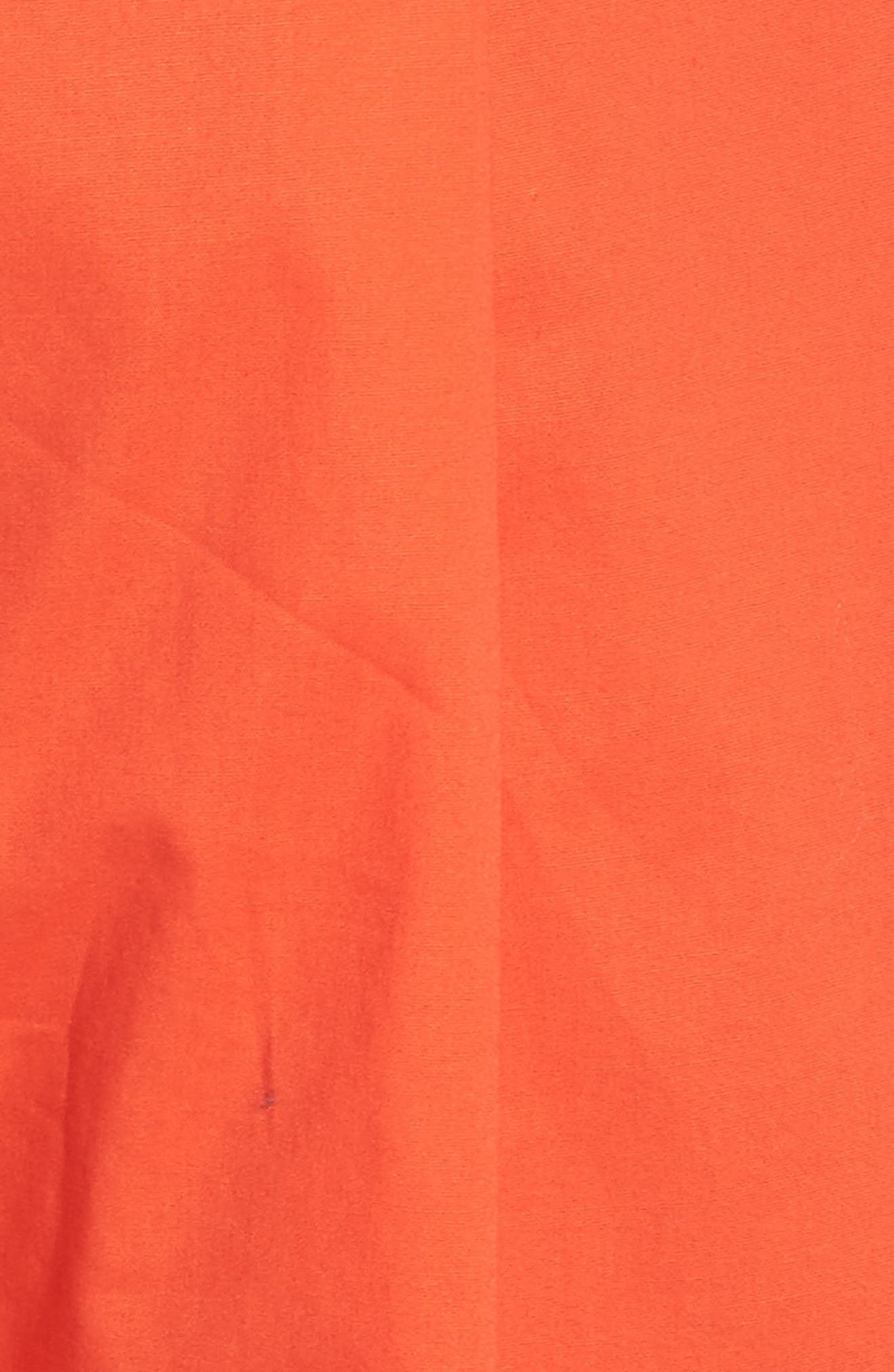Ruffle One-Shoulder Crop Jumpsuit,                             Alternate thumbnail 5, color,                             820