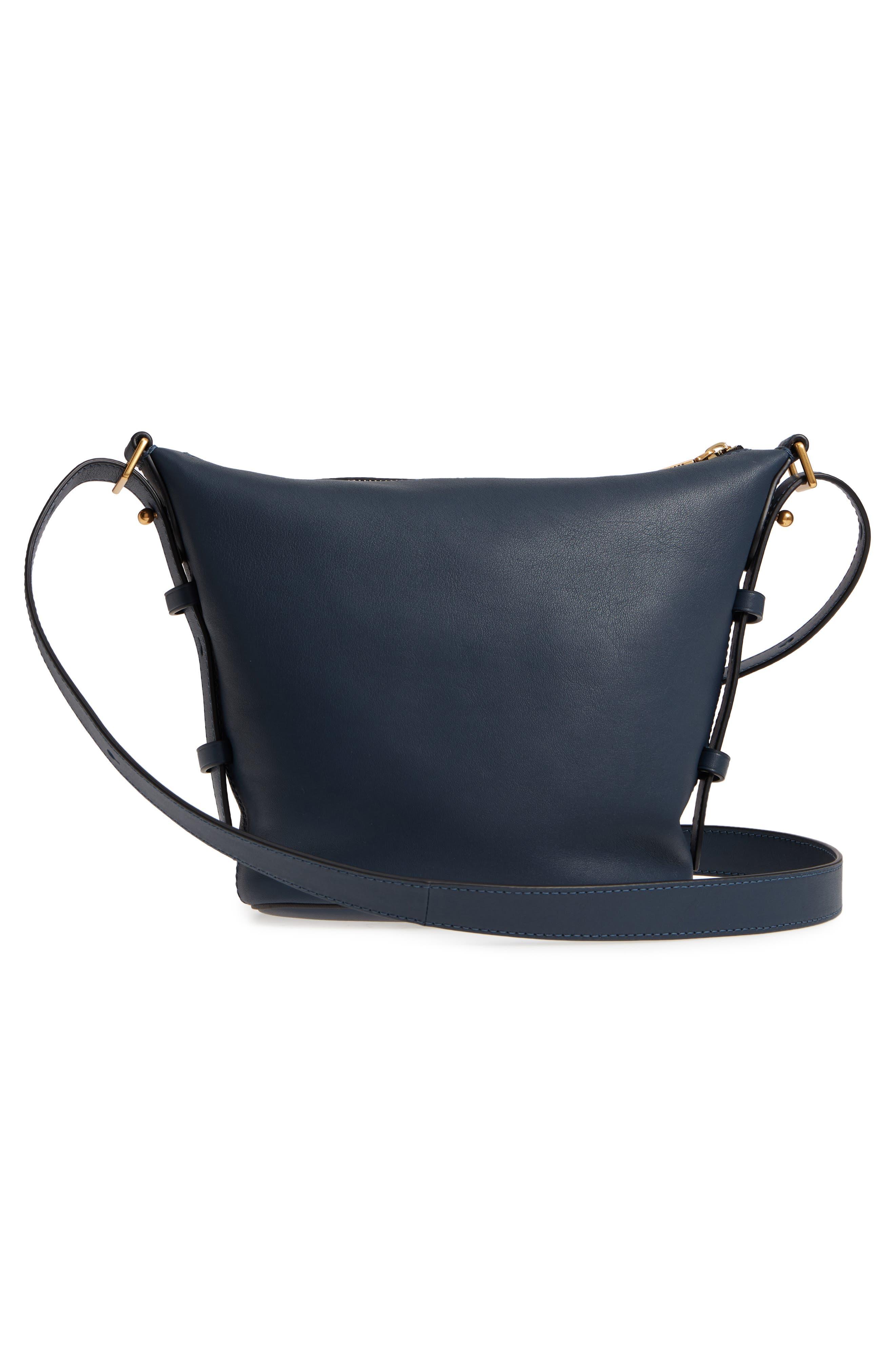 The Mini Sling Convertible Leather Hobo,                             Alternate thumbnail 19, color,