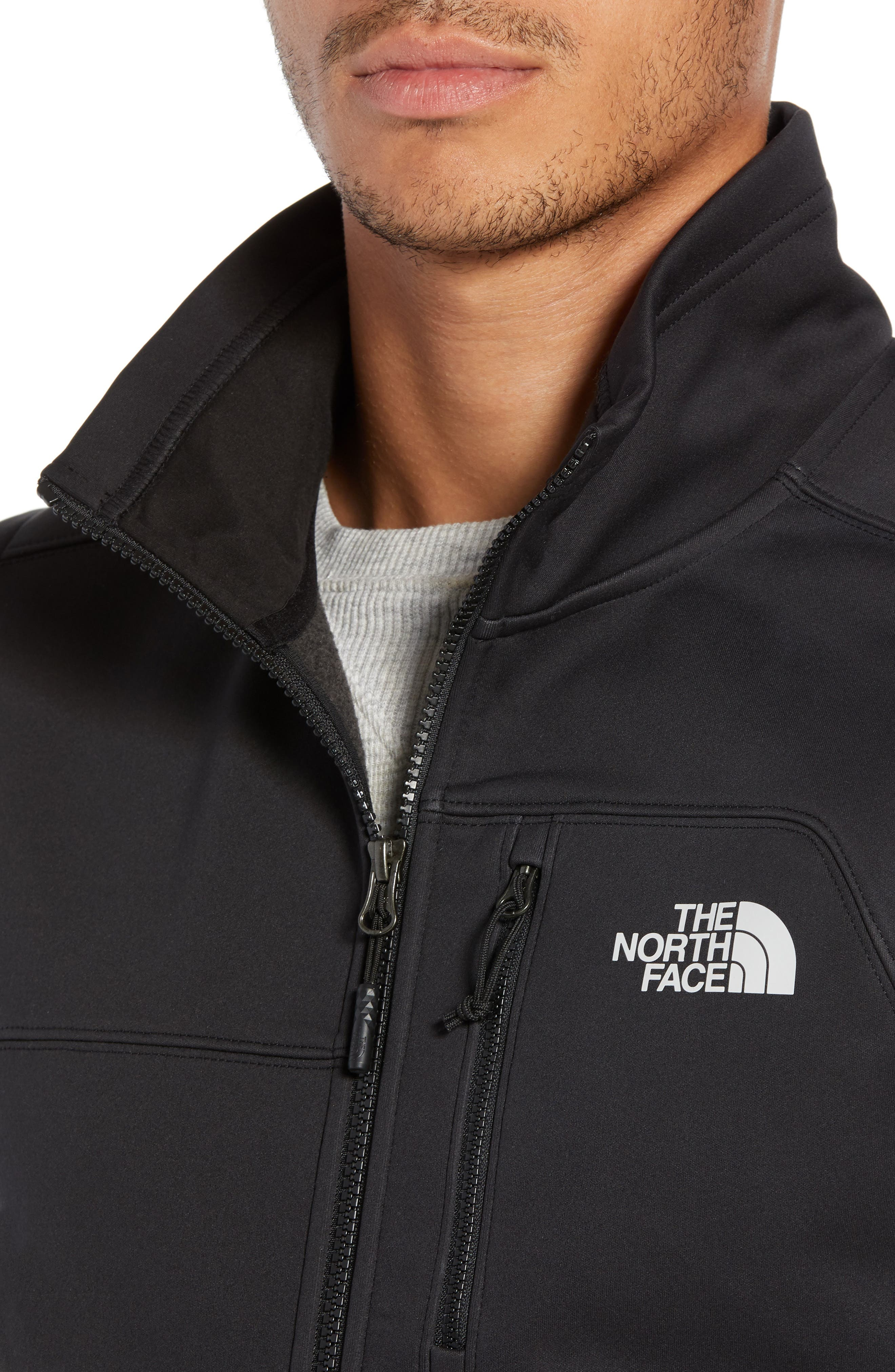 Apex Risor Vest,                             Alternate thumbnail 4, color,                             TNF BLACK/ TNF BLACK