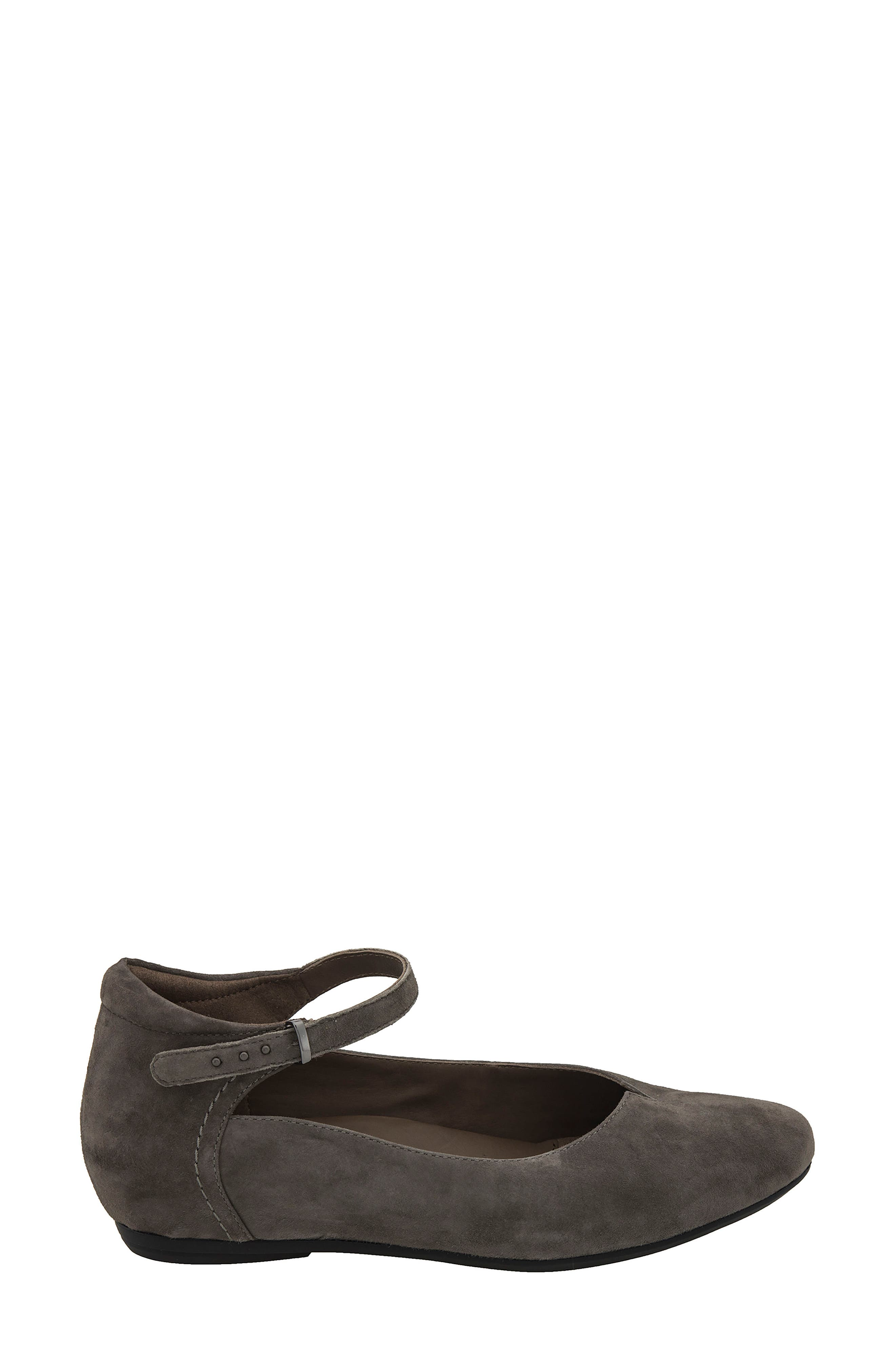 Emery Ankle Strap Flat,                             Alternate thumbnail 8, color,
