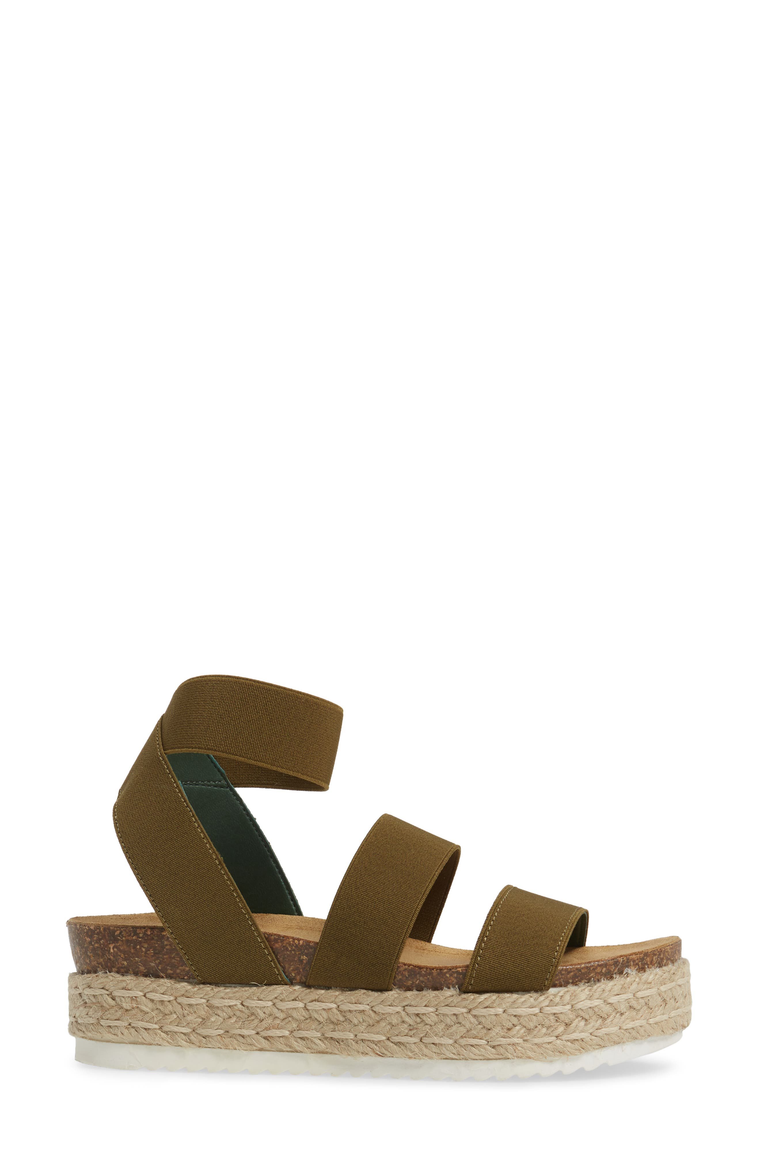 Kimmie Flatform Sandal,                             Alternate thumbnail 9, color,