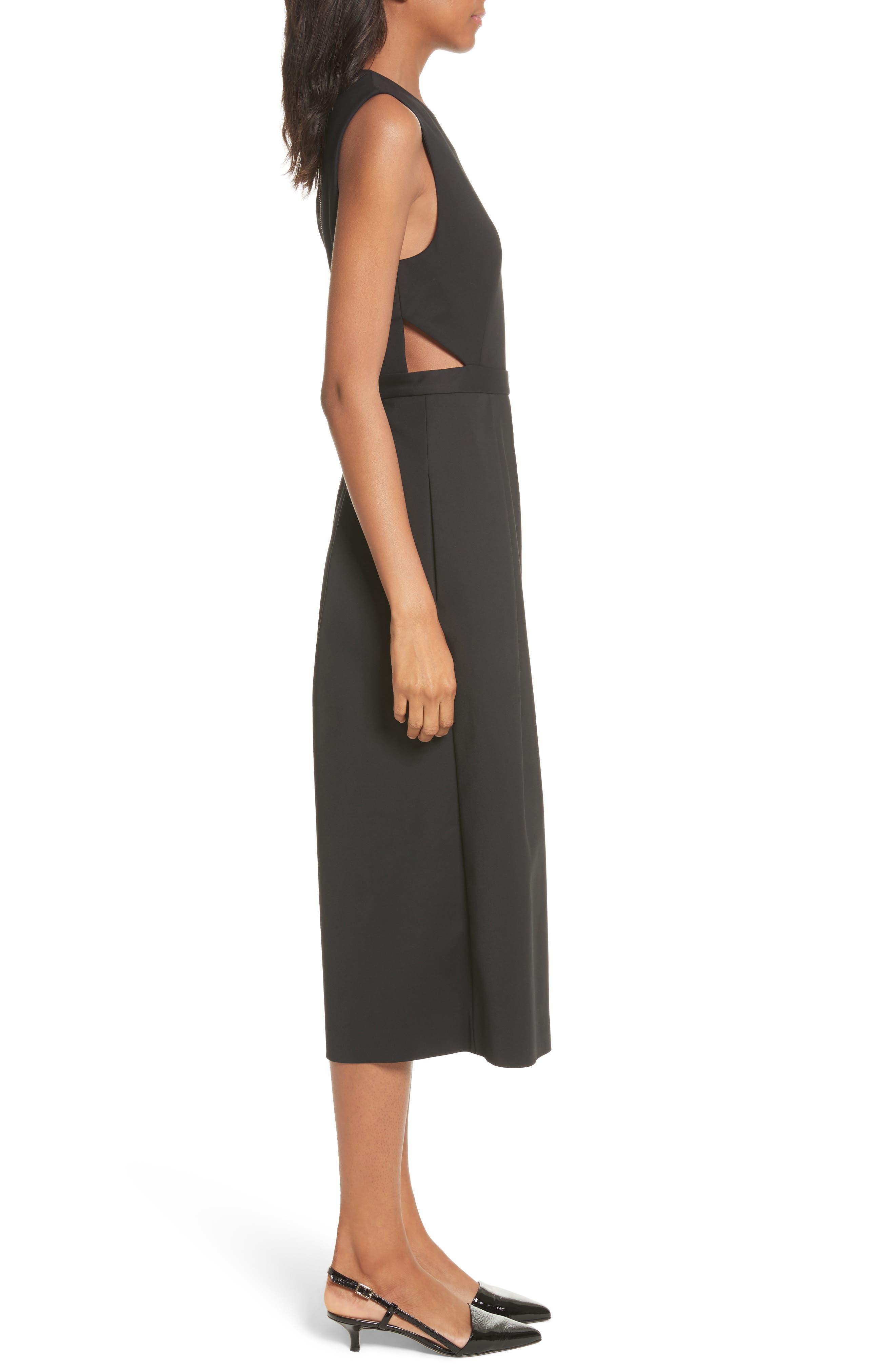 Side Cutout Jumpsuit,                             Alternate thumbnail 3, color,