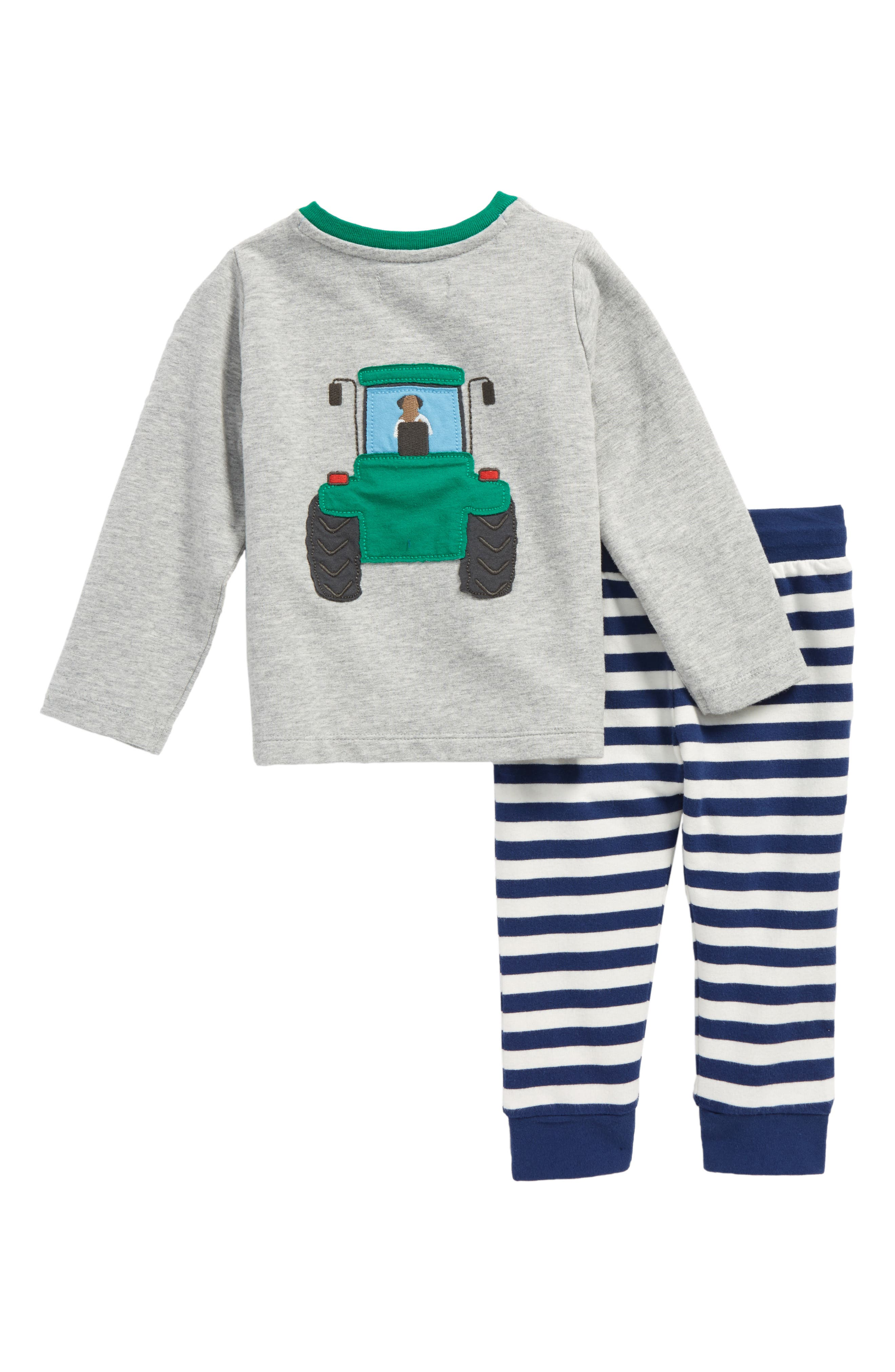 Appliqué T-Shirt & Pants Set,                             Alternate thumbnail 2, color,