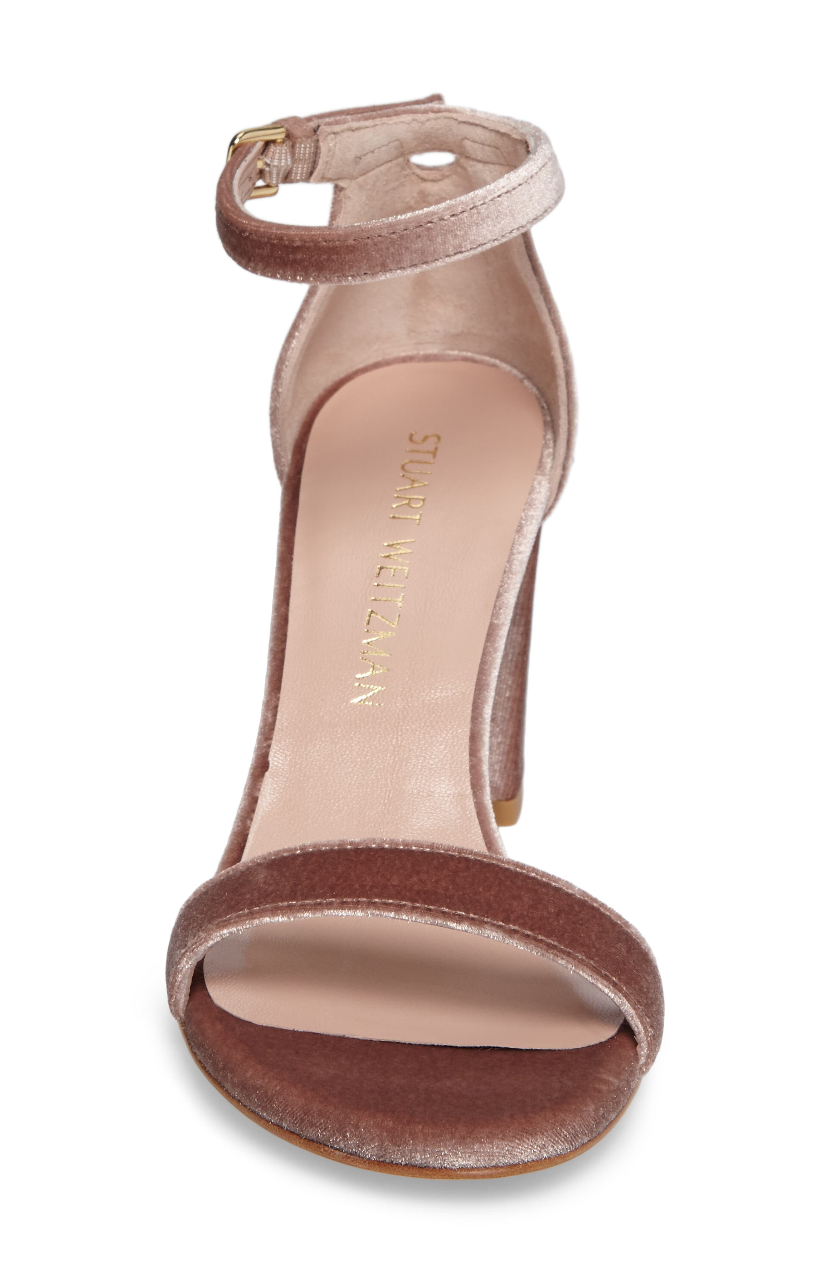NearlyNude Ankle Strap Sandal,                             Alternate thumbnail 108, color,