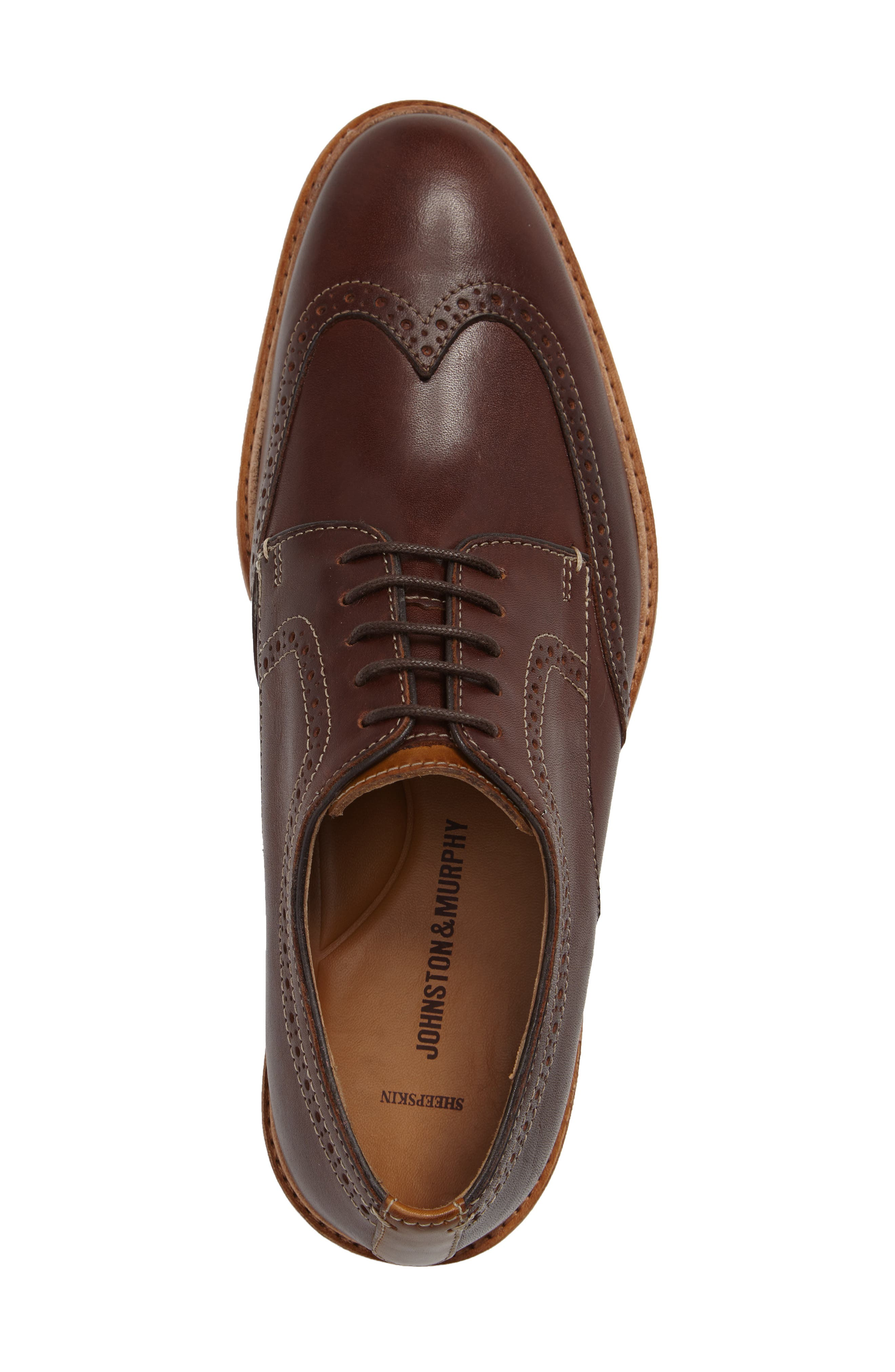 Campbell Wingtip,                             Alternate thumbnail 3, color,                             206