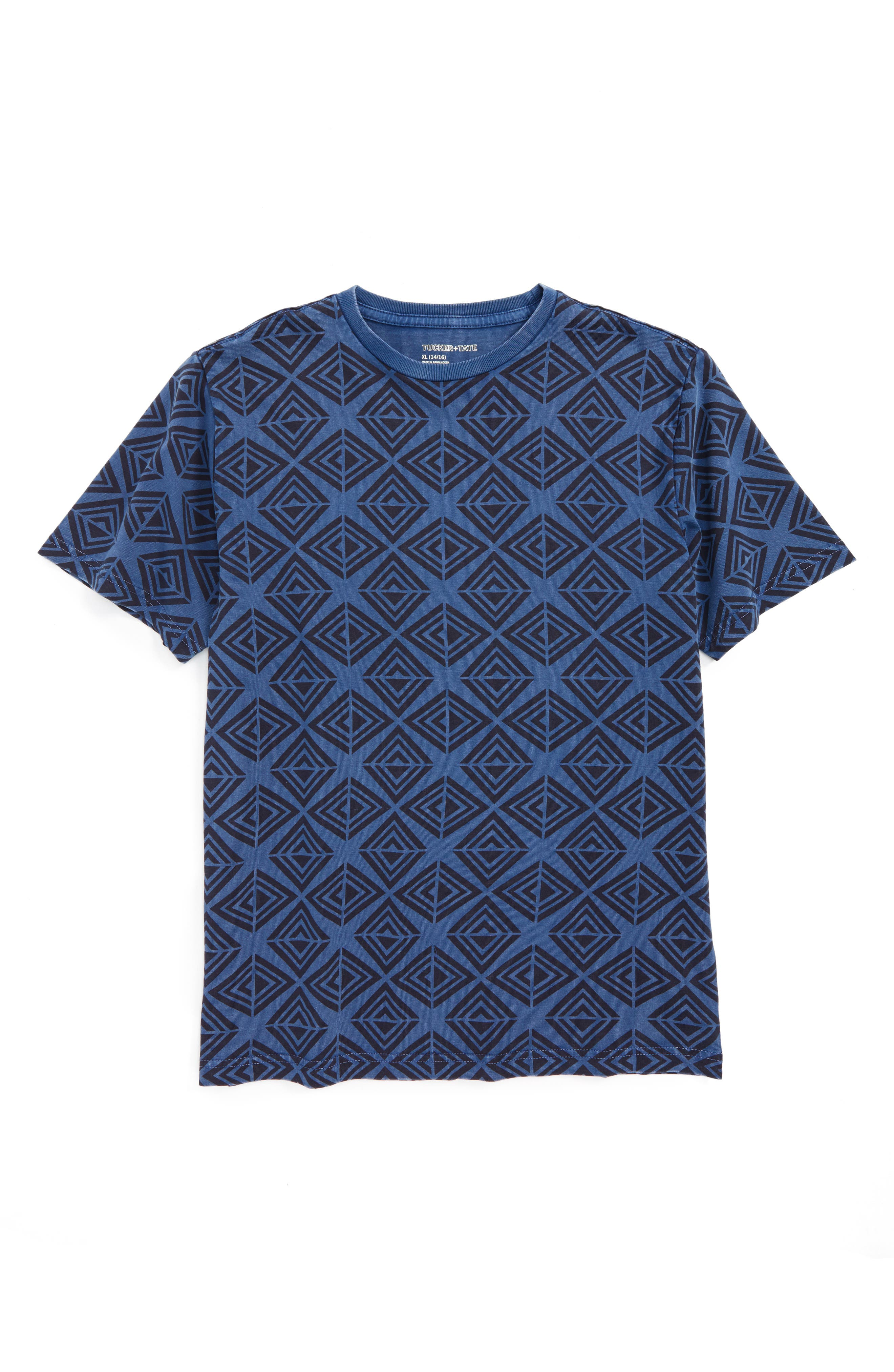 Geometric T-Shirt,                             Main thumbnail 2, color,