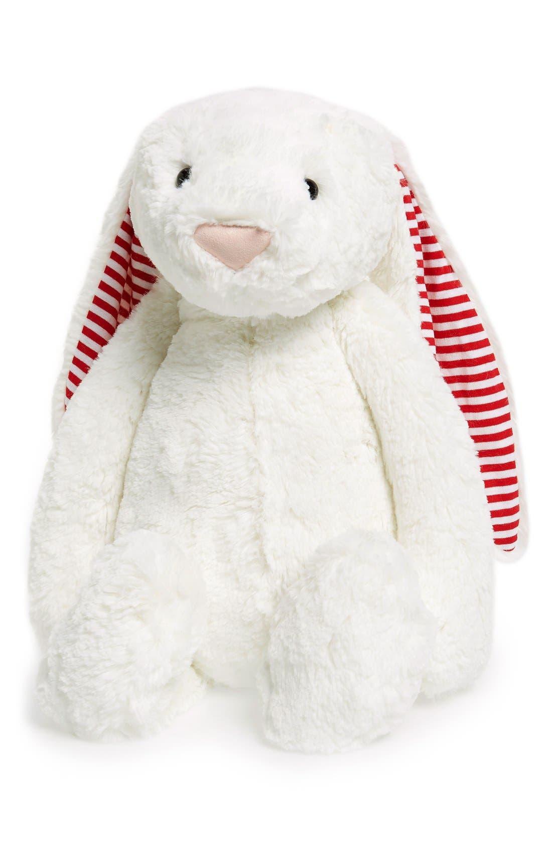 'Huge Candy Stripe Bunny' Stuffed Animal,                             Alternate thumbnail 2, color,