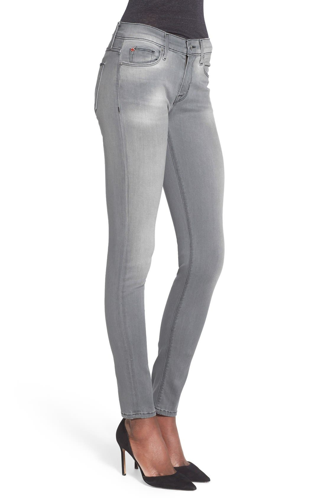 'Nico' Super Skinny Jeans,                             Alternate thumbnail 6, color,