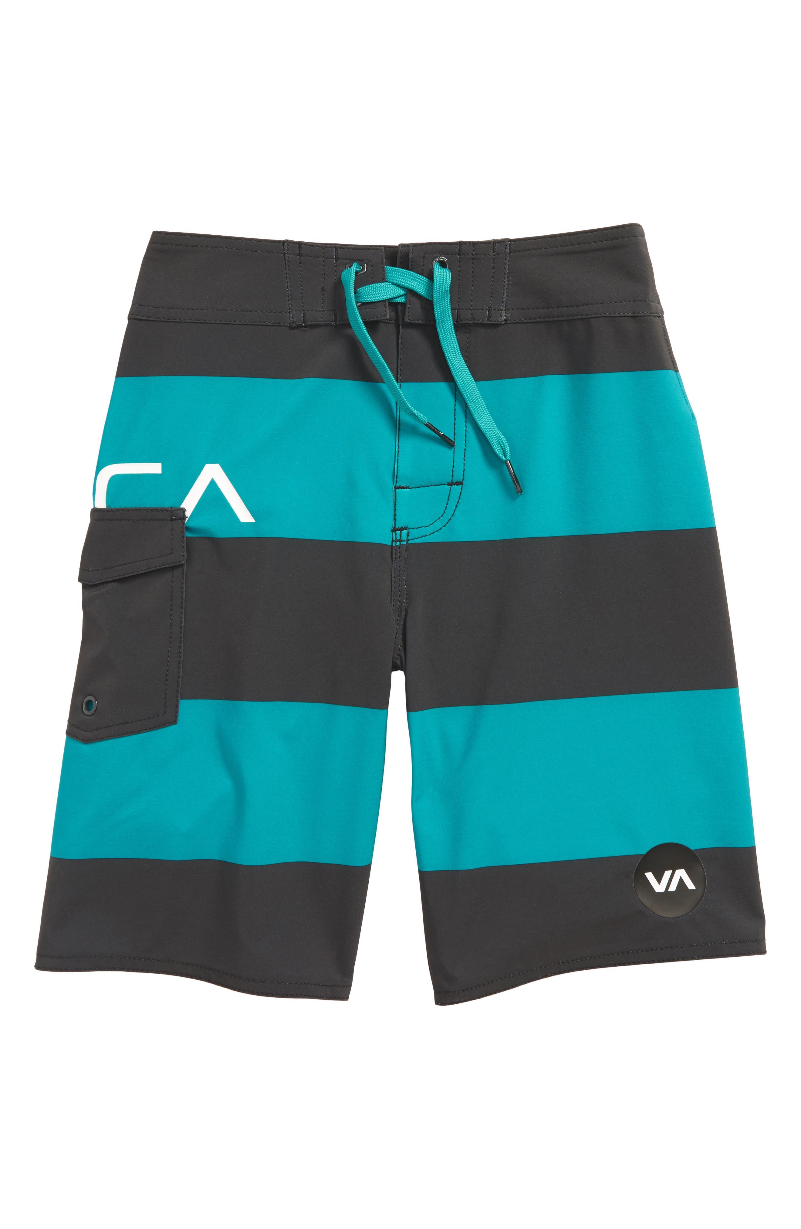 Uncivil Stripe Board Shorts,                             Main thumbnail 2, color,