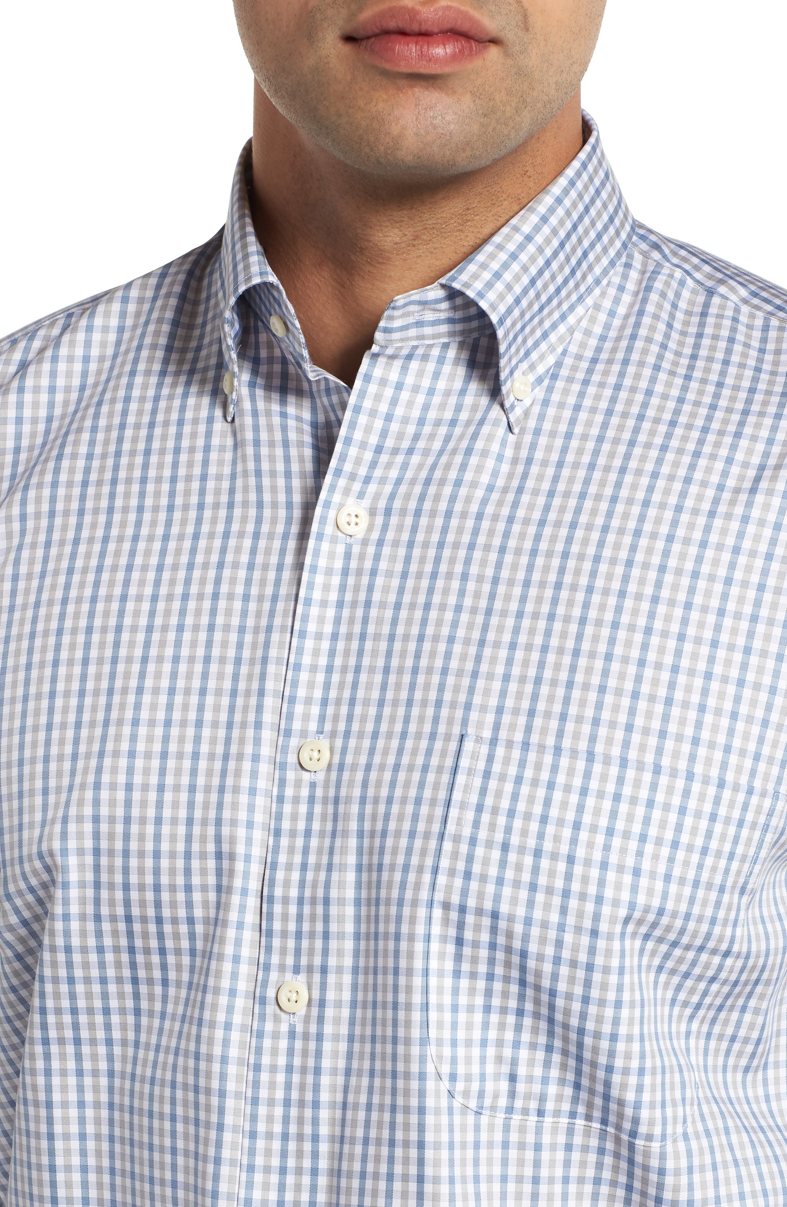Lake City Regular Fit Tattersall Sport Shirt,                             Alternate thumbnail 2, color,                             020