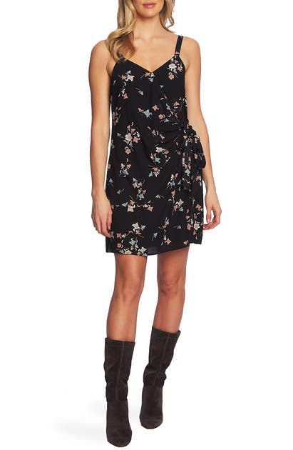 1.state Dresses FLORAL BELLE WRAP FRONT DRESS