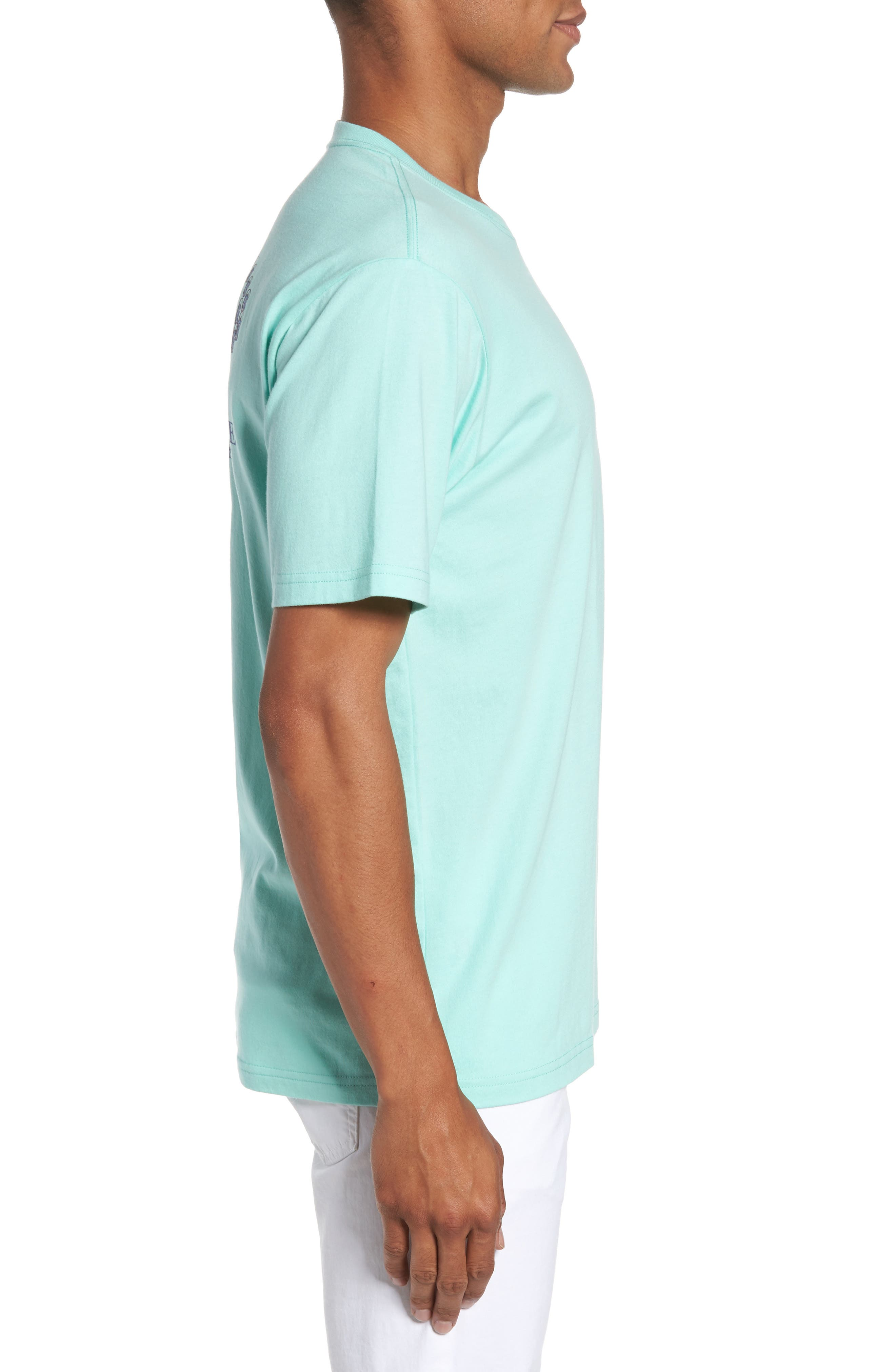 Classic Fit Quarters Master T-Shirt,                             Alternate thumbnail 3, color,                             376