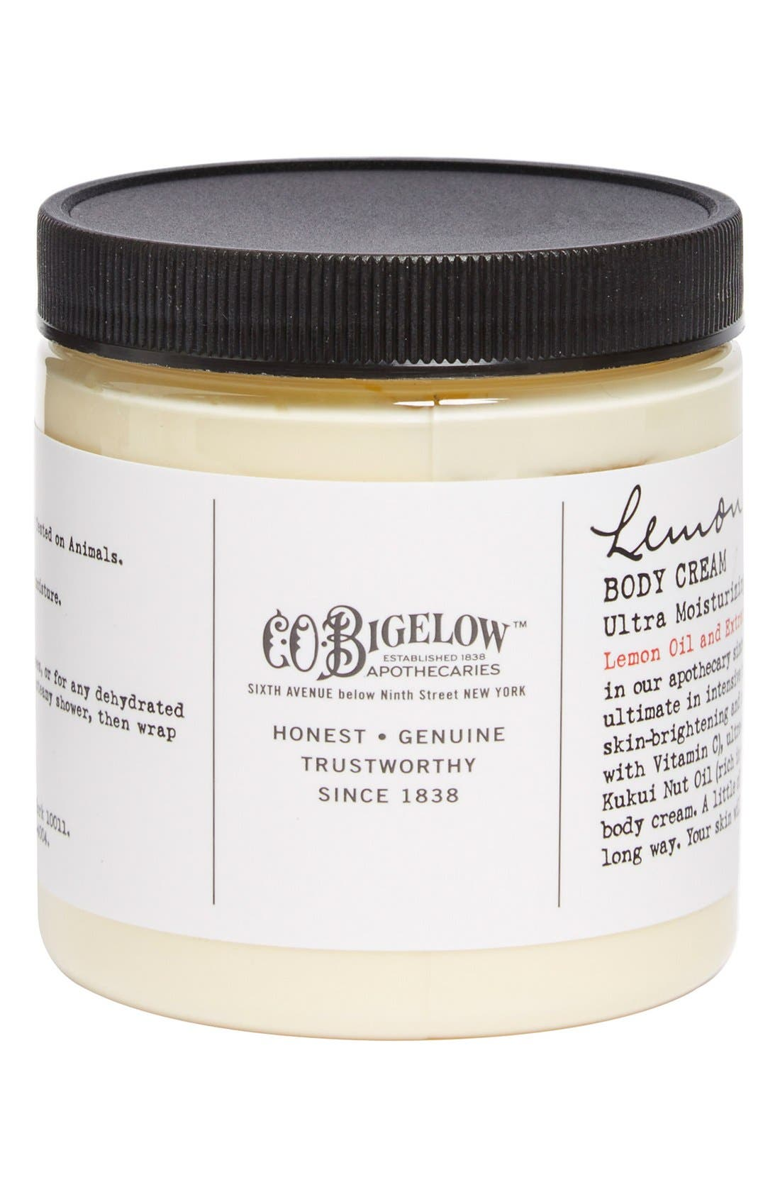Lemon Body Cream,                             Main thumbnail 1, color,                             000