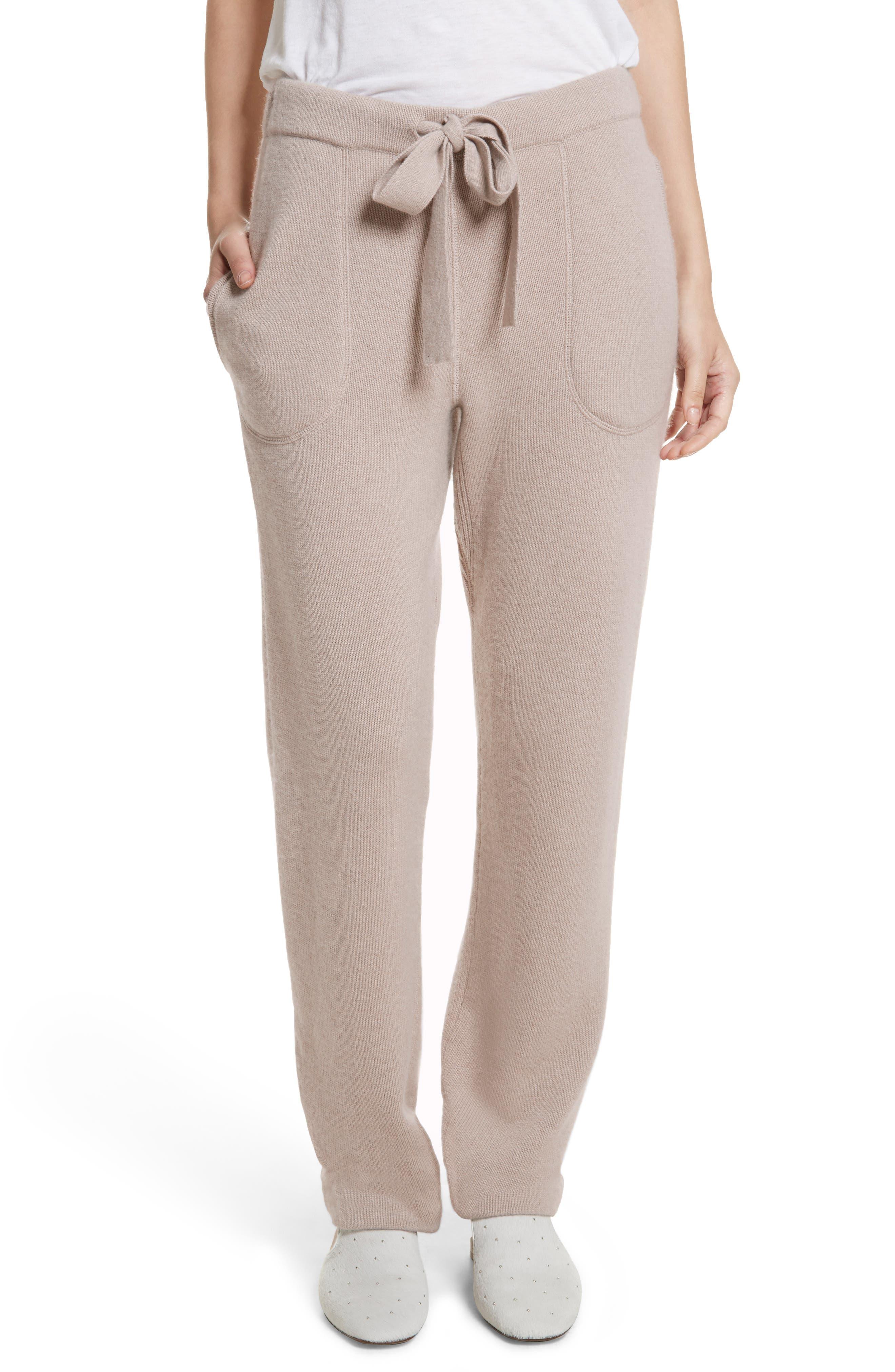 Sutton Cashmere Pants,                         Main,                         color, 211