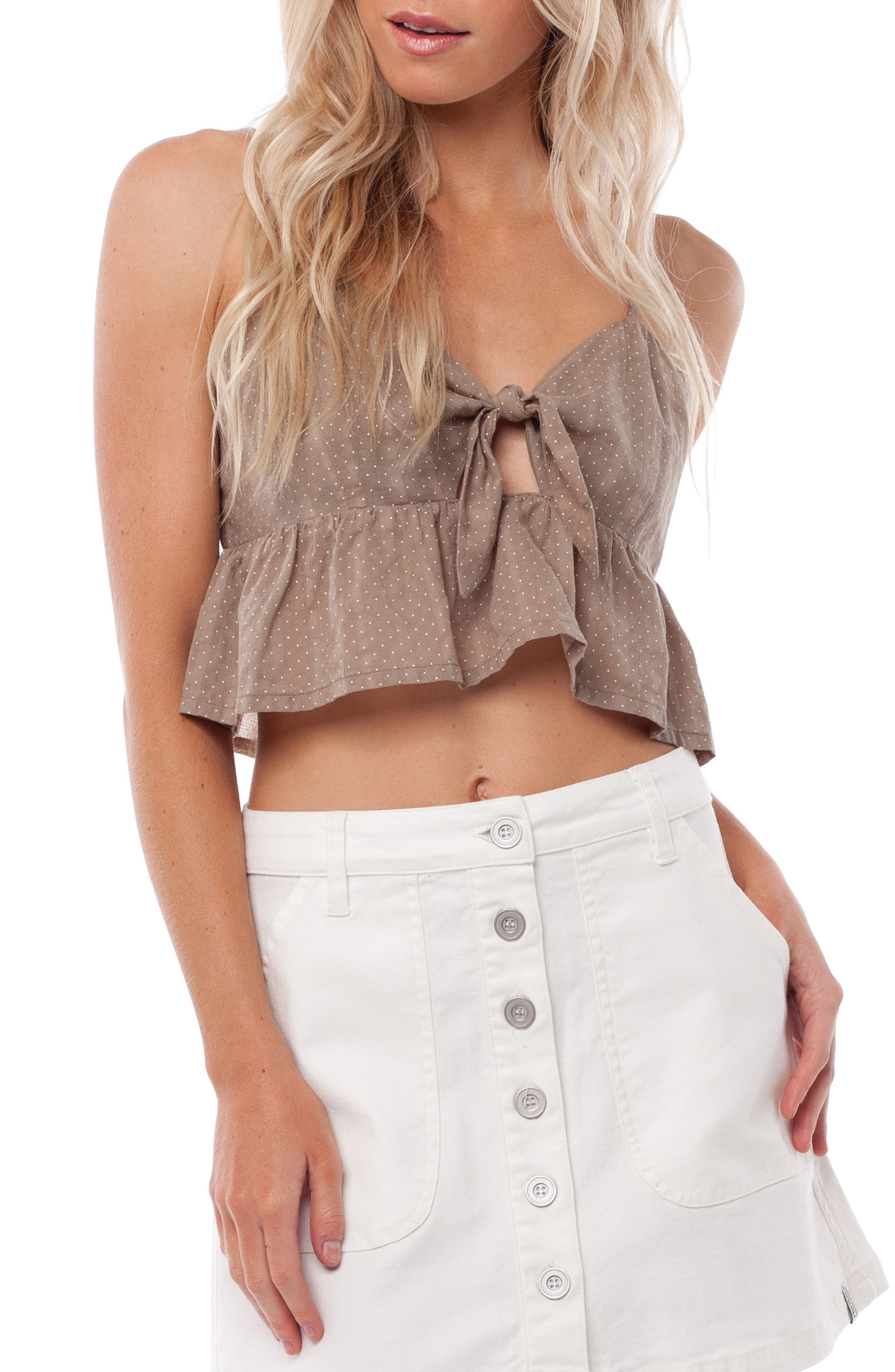 Messina Cover-Up Top,                         Main,                         color, CHAI