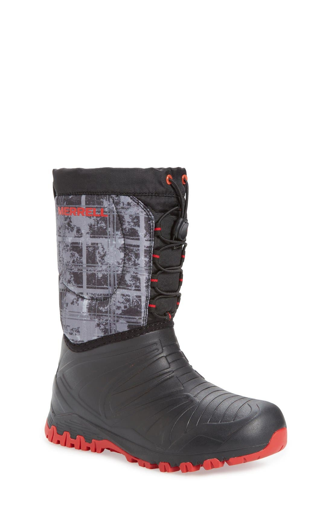 'Snow Quest' Waterproof Boot,                             Main thumbnail 1, color,                             001