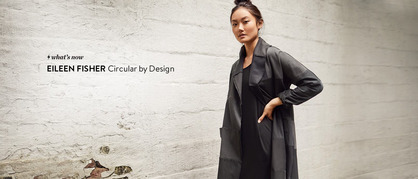 Eileen Fisher Renew collection.