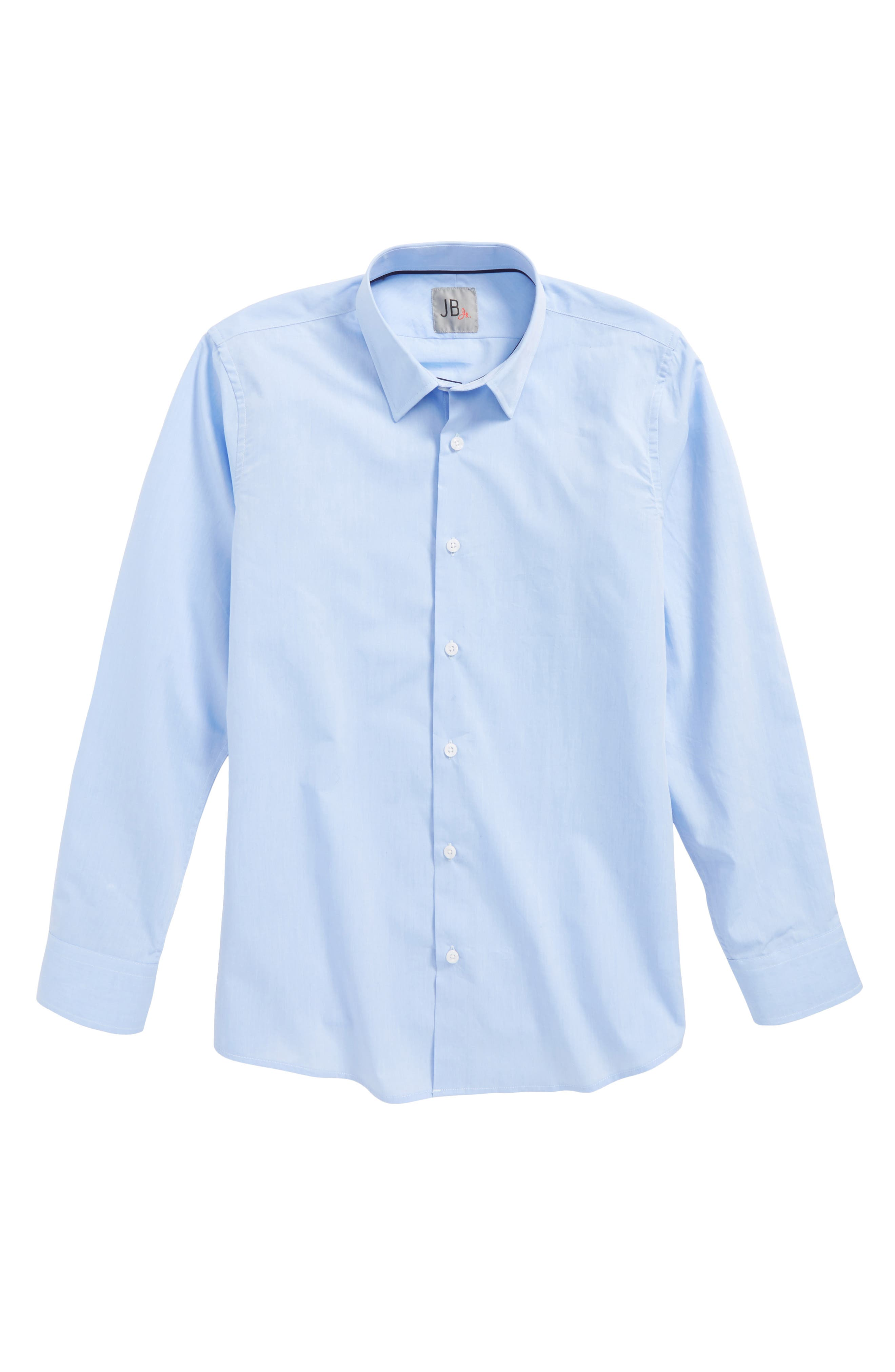 Solid Dress Shirt,                         Main,                         color, 430
