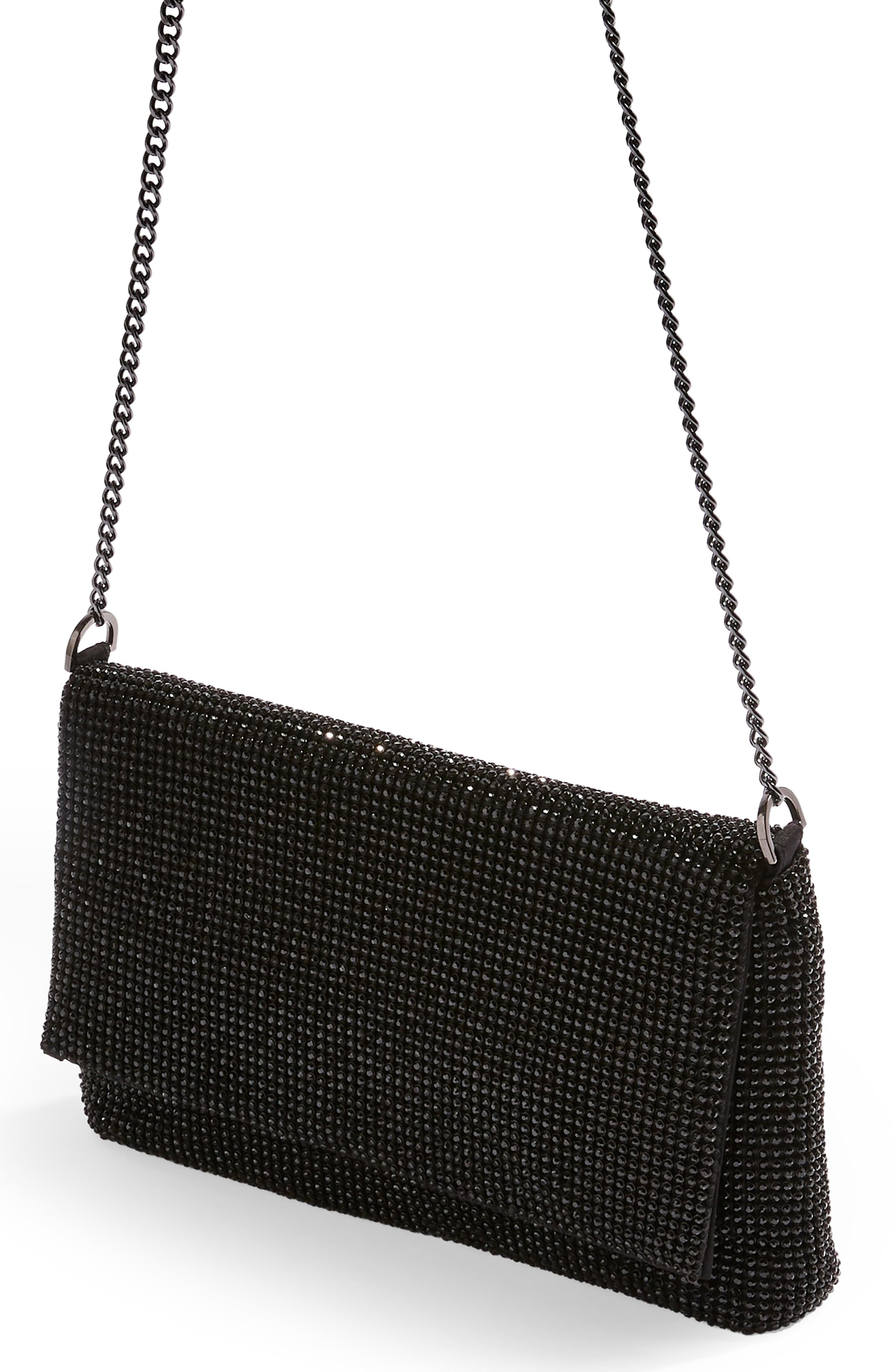 New Diana Clutch Purse,                             Alternate thumbnail 2, color,                             BLACK