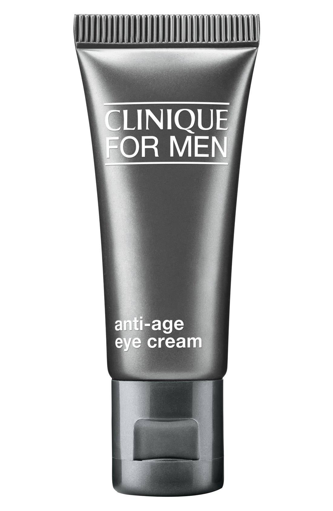 for Men Anti-Age Eye Cream, Main, color, NO COLOR