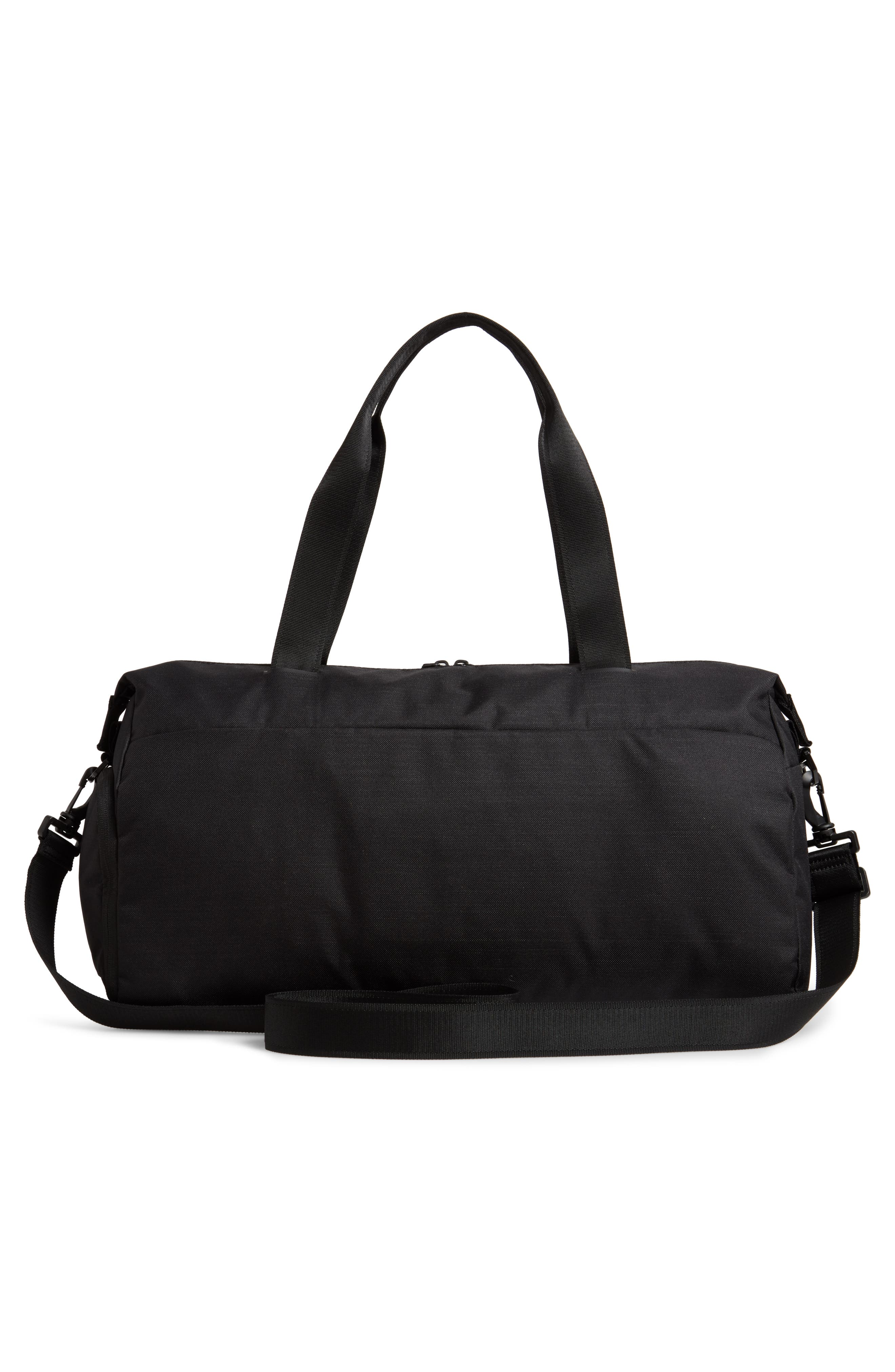 Radiate Club Training Bag,                             Alternate thumbnail 3, color,                             BLACK/ BLACK/ METALLIC GOLD