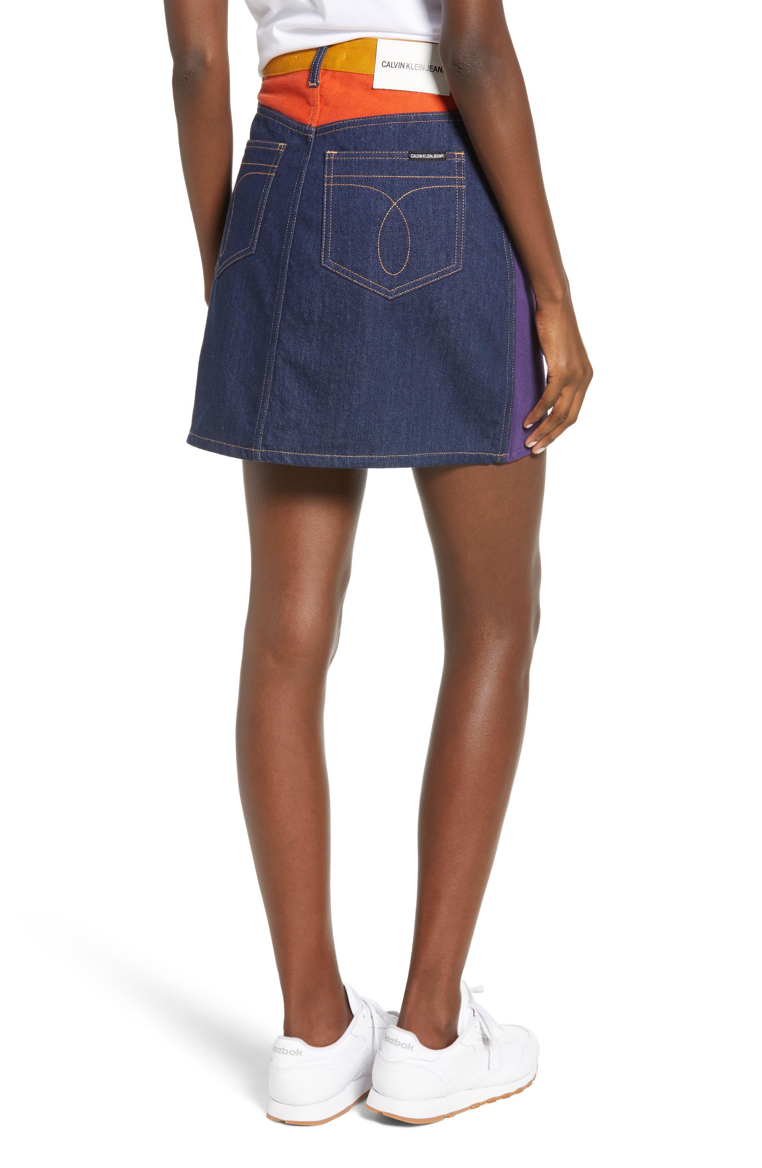 HR Miniskirt,                             Alternate thumbnail 2, color,                             UKELELY PATCH