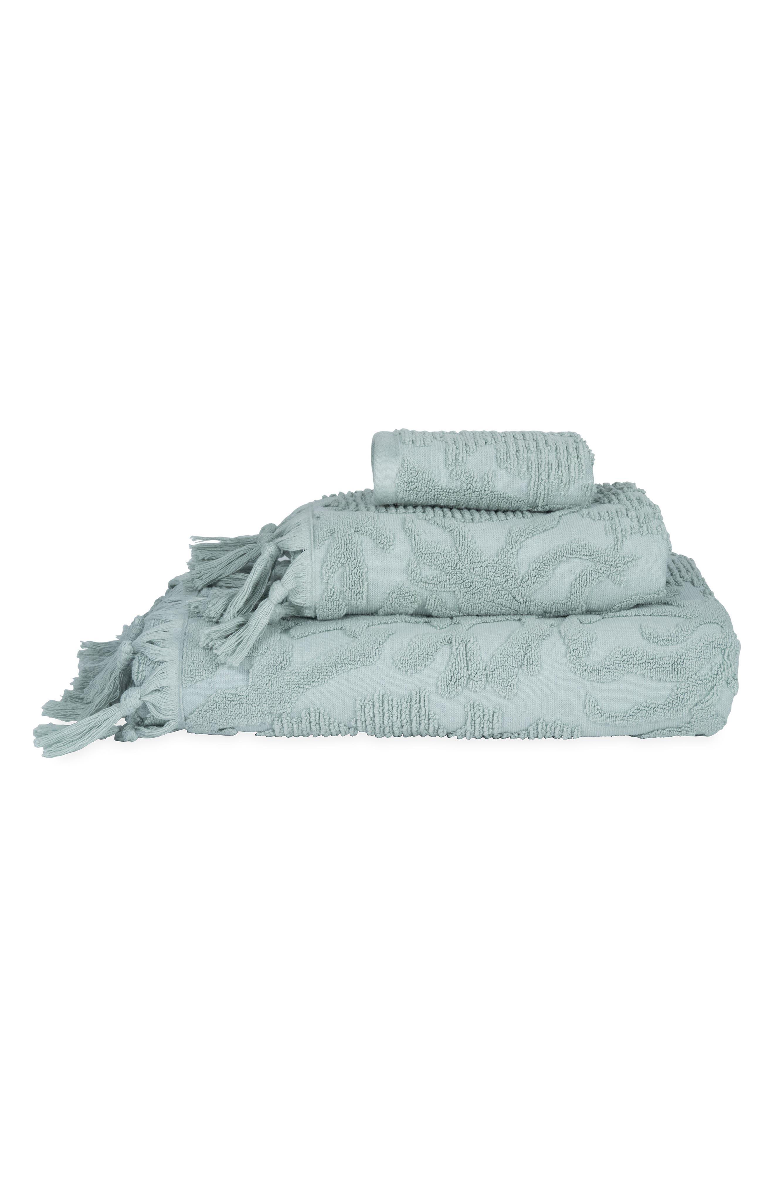 MICHAEL ARAM,                             Ocean Reef Hand Towel,                             Alternate thumbnail 2, color,                             SEAFOAM