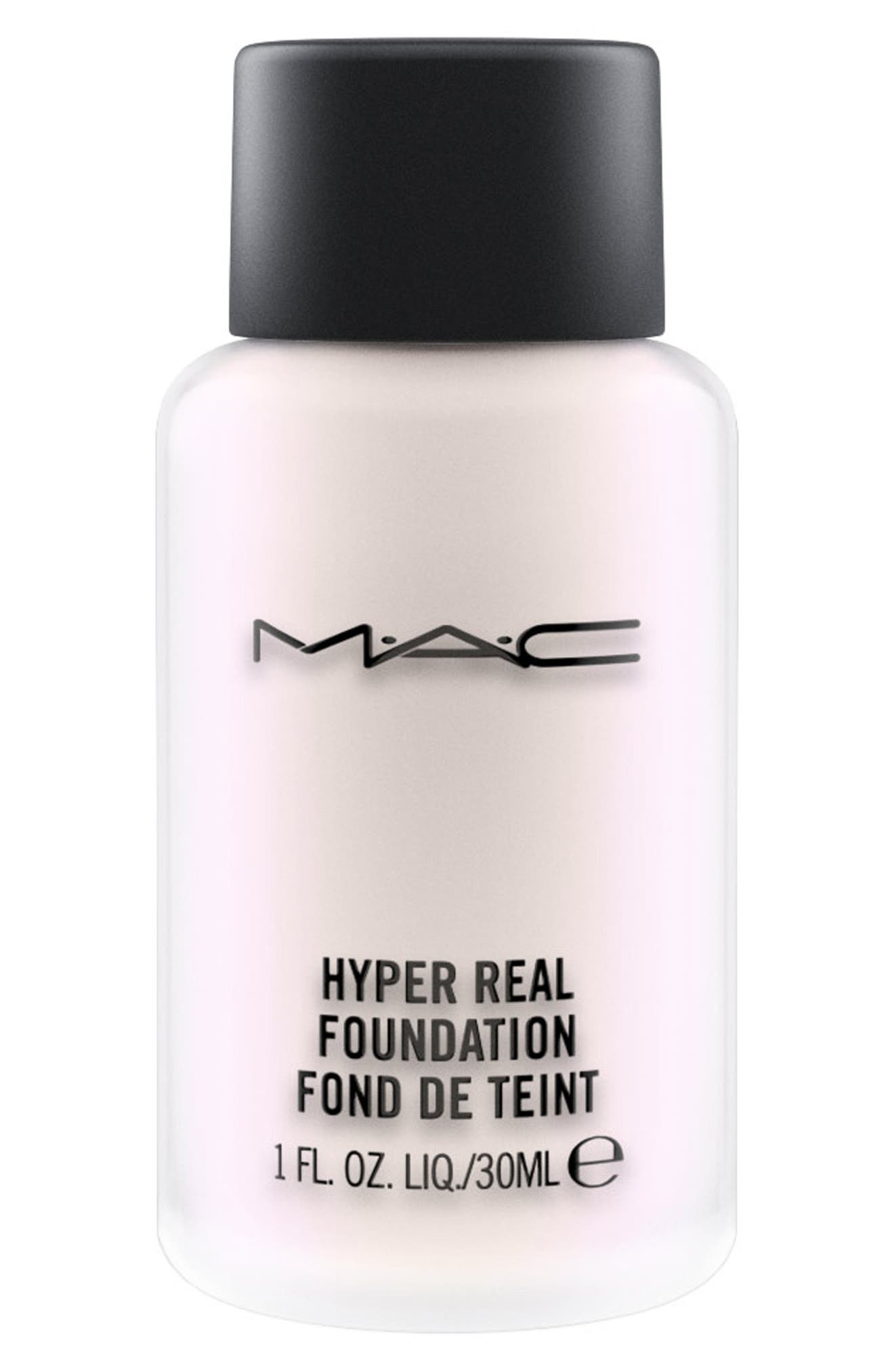 MAC Hyper Real Foundation,                             Main thumbnail 1, color,                             VIOLET FX