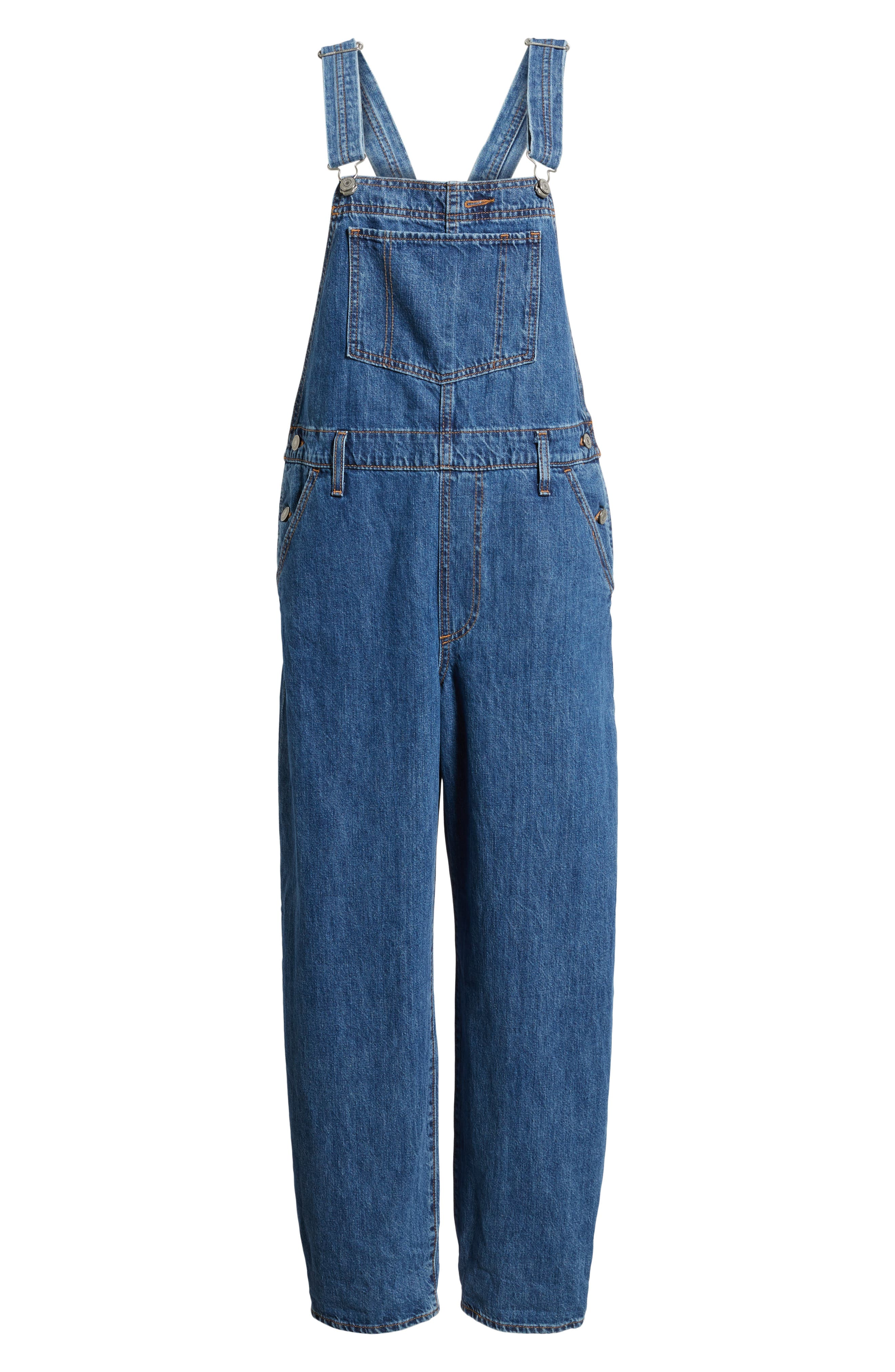 Baggy Overalls,                             Alternate thumbnail 7, color,                             401