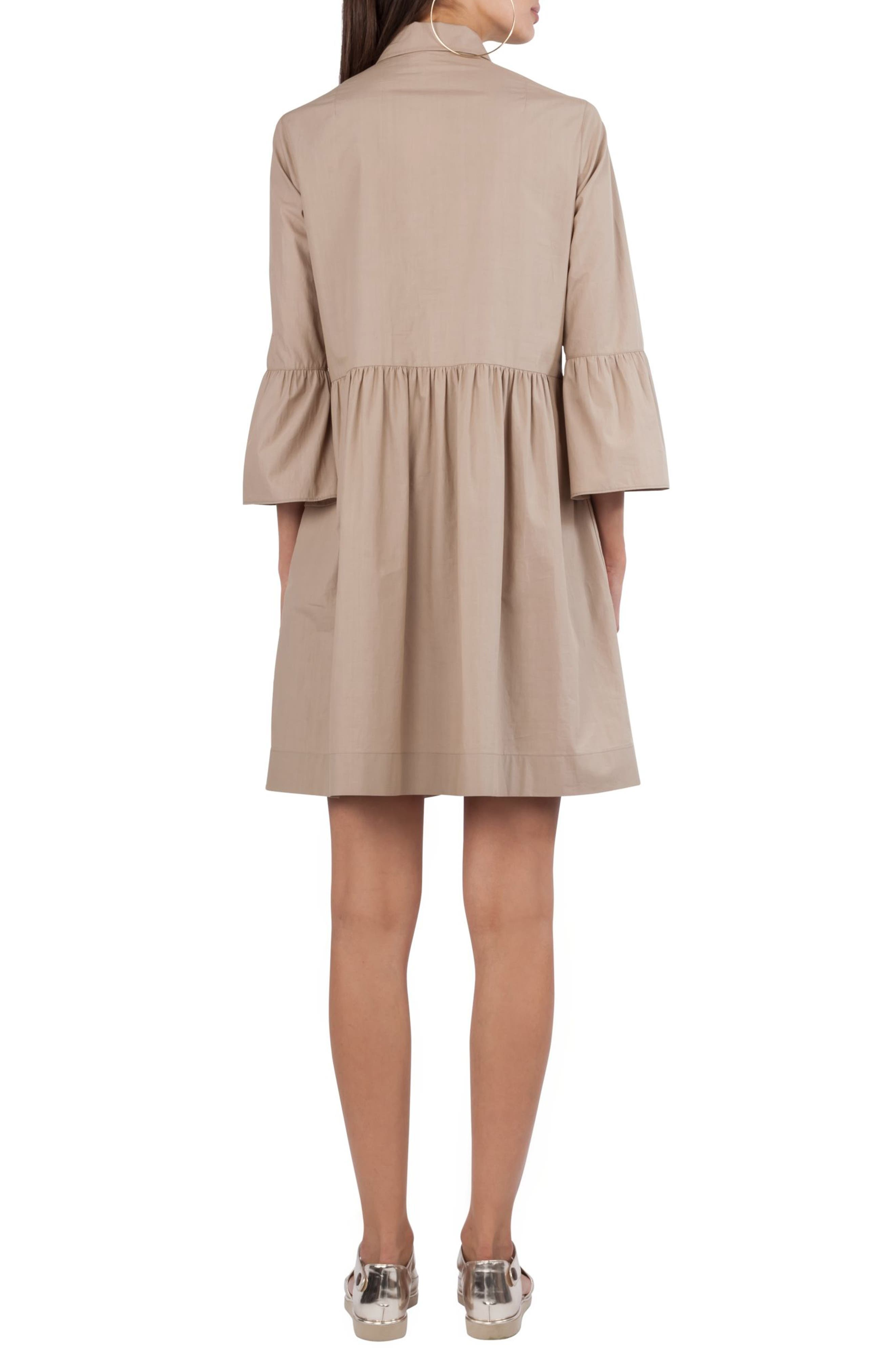 Ruffle Skirt Shirtdress,                             Alternate thumbnail 2, color,                             253