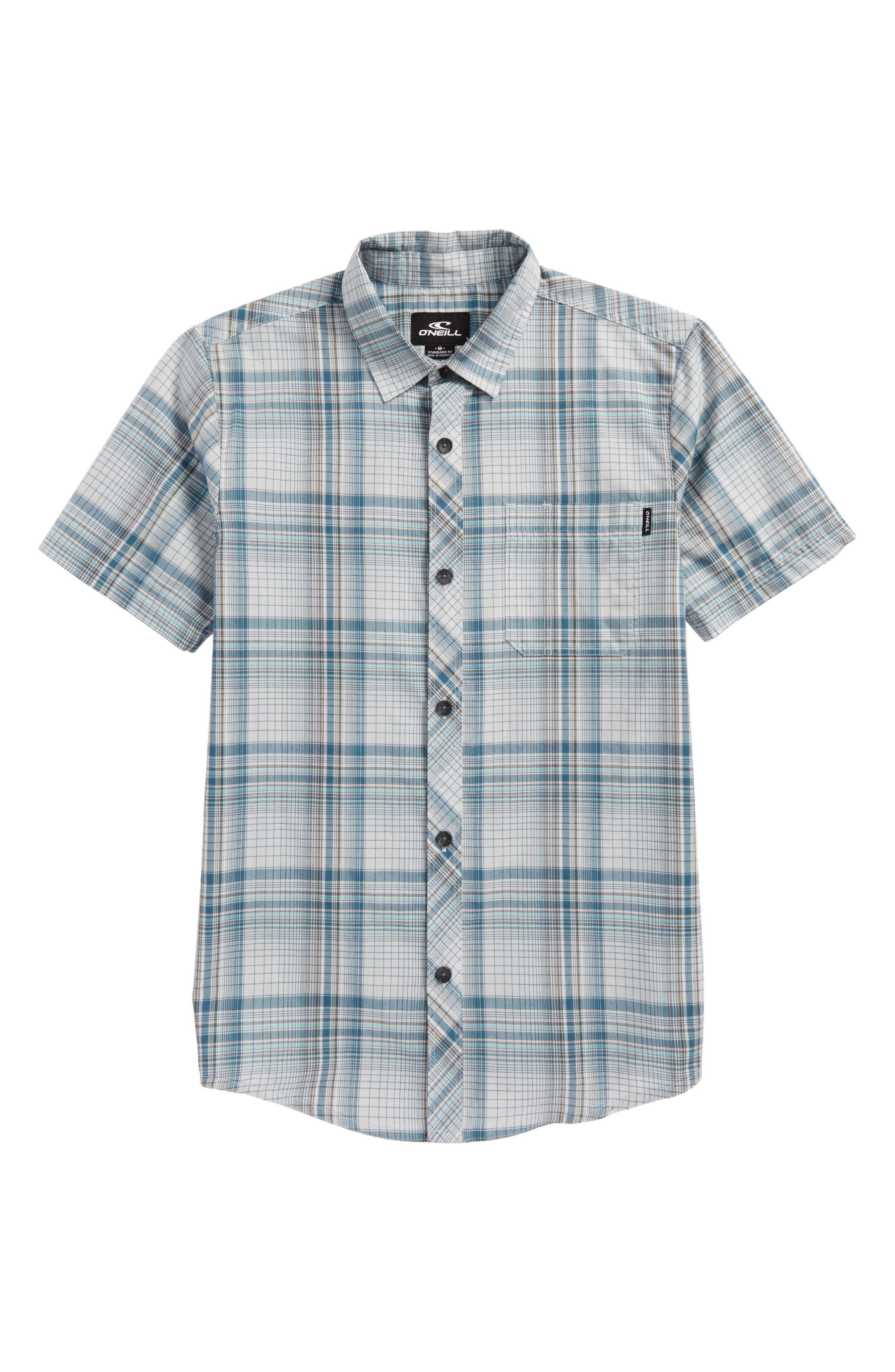 Sturghill Plaid Woven Shirt,                         Main,                         color,