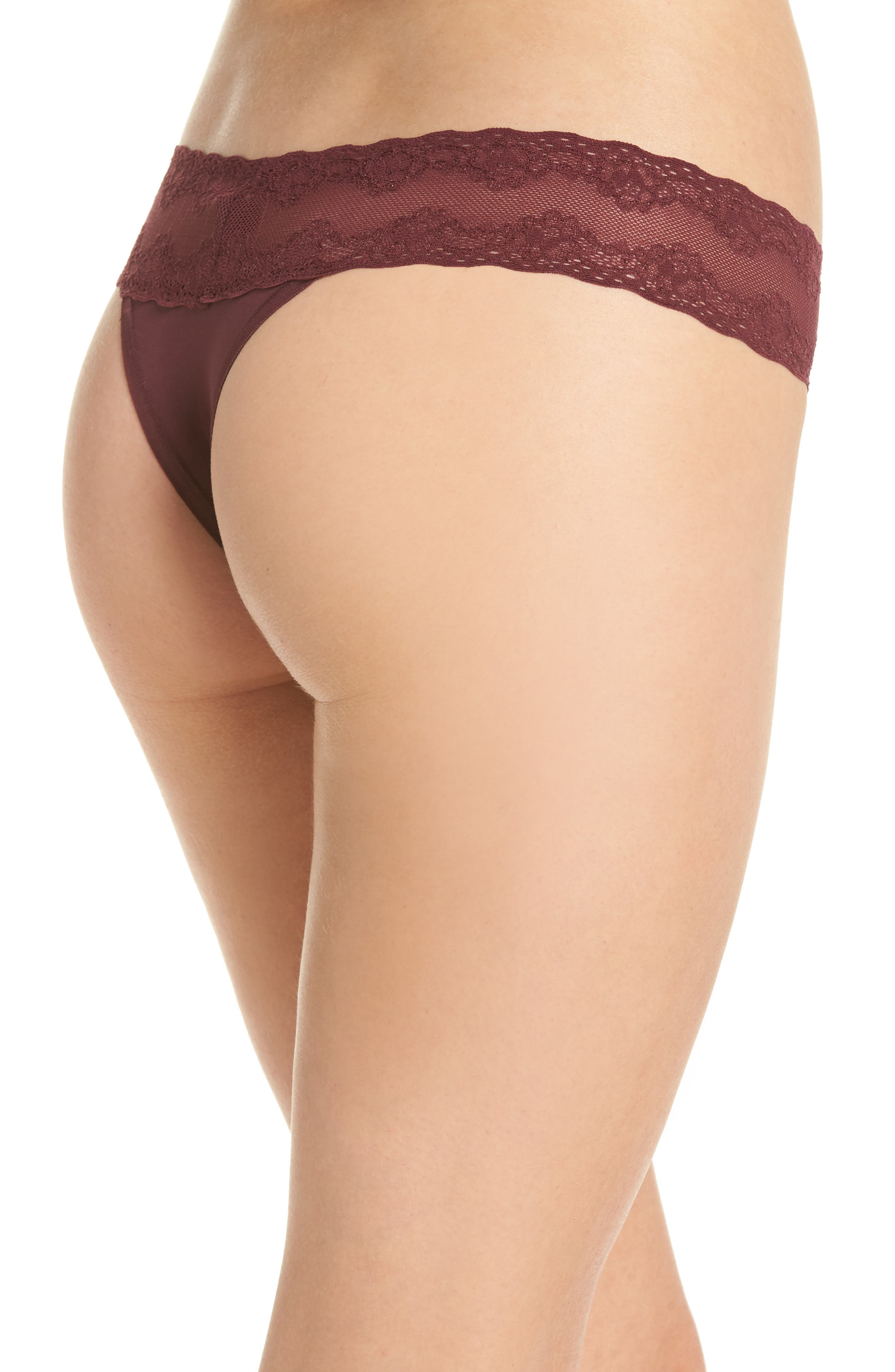 Bliss Perfection Thong,                             Alternate thumbnail 141, color,