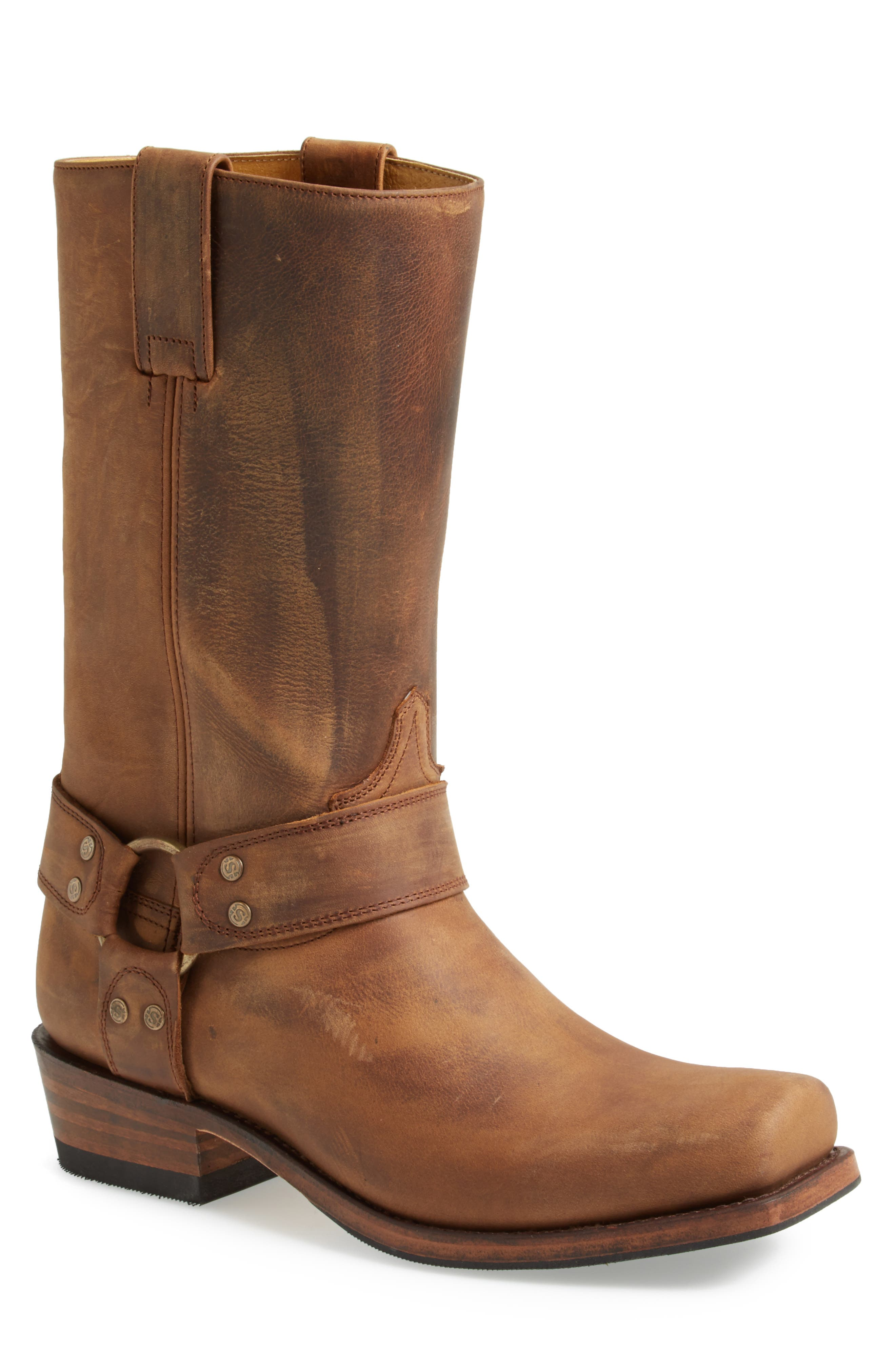 Boots Tall Harness Boot,                             Alternate thumbnail 3, color,                             TAN