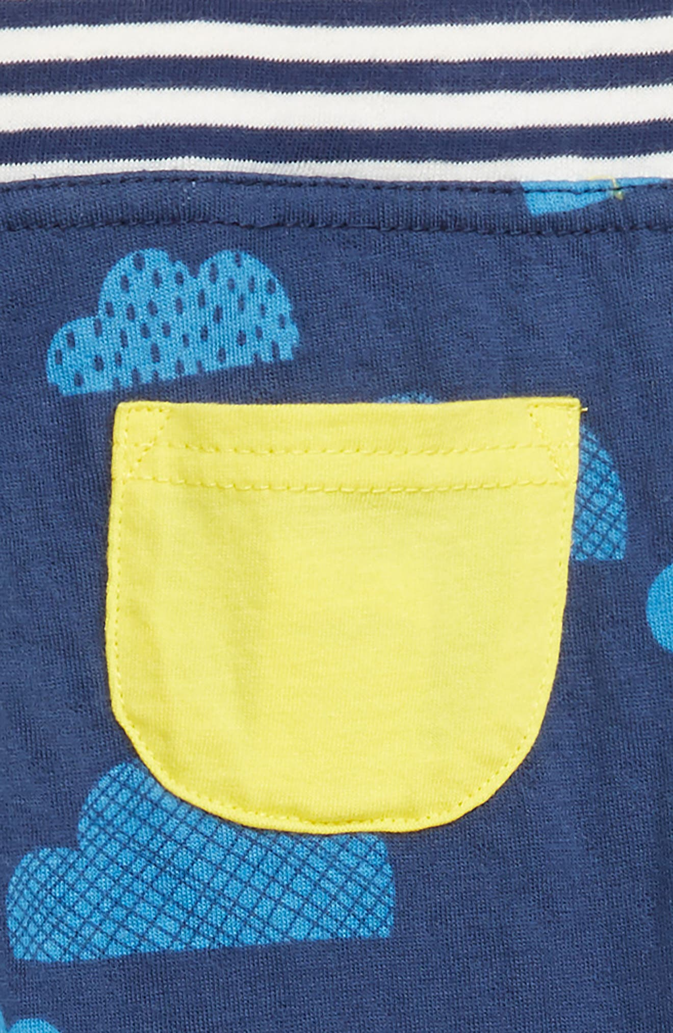 Reversible Print Pants,                             Alternate thumbnail 3, color,                             NAV COLLEGE BLUE CLOUDS