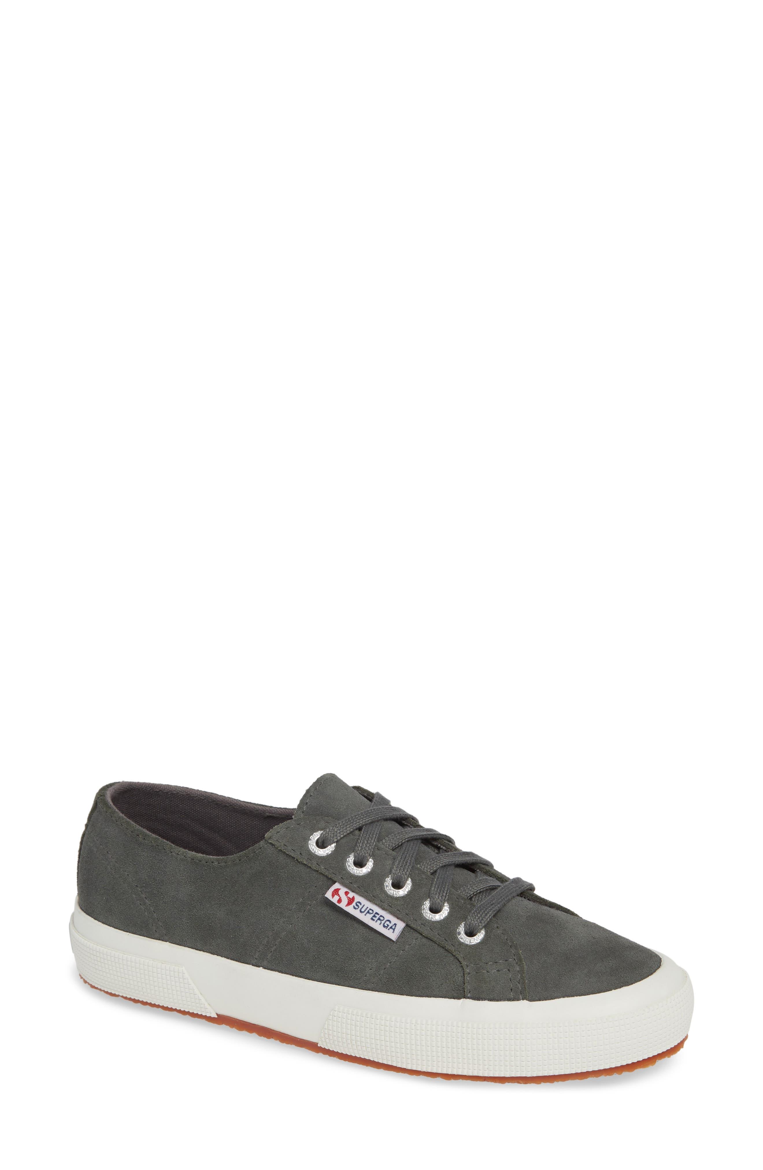 2750 Suecotw Low Top Sneaker,                         Main,                         color, DARK GREY SUEDE