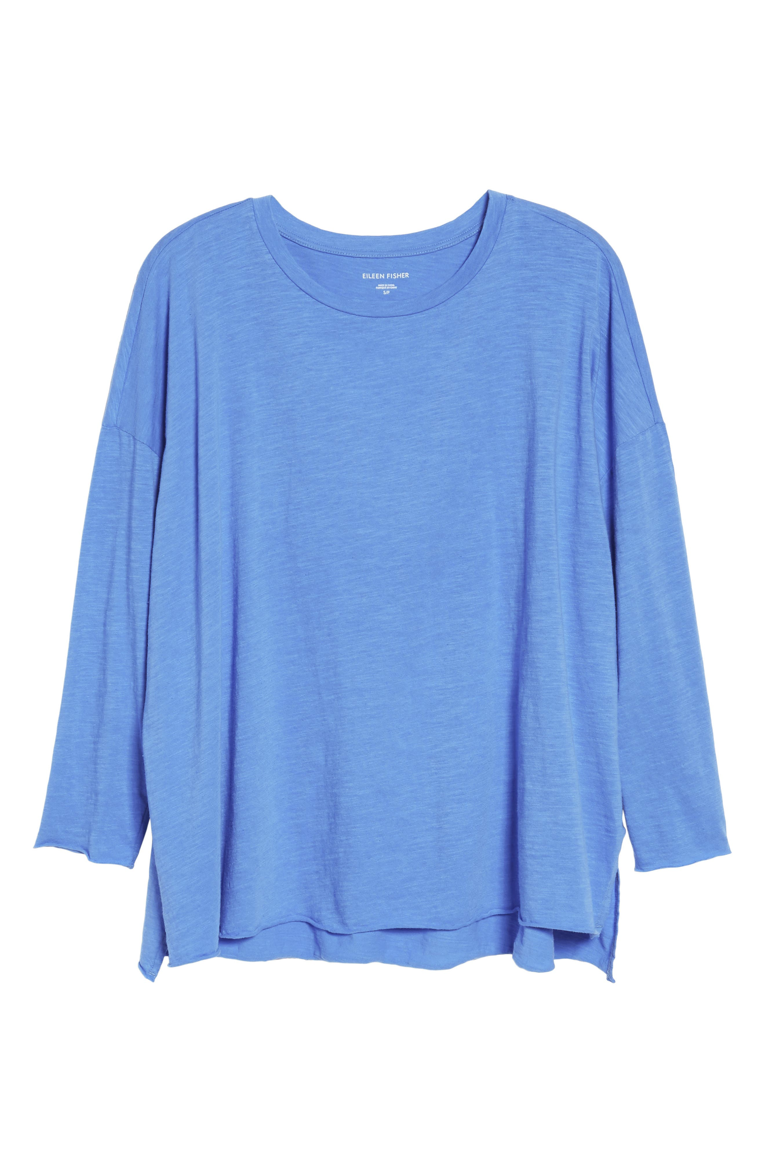 Organic Cotton Knit Top,                             Alternate thumbnail 50, color,