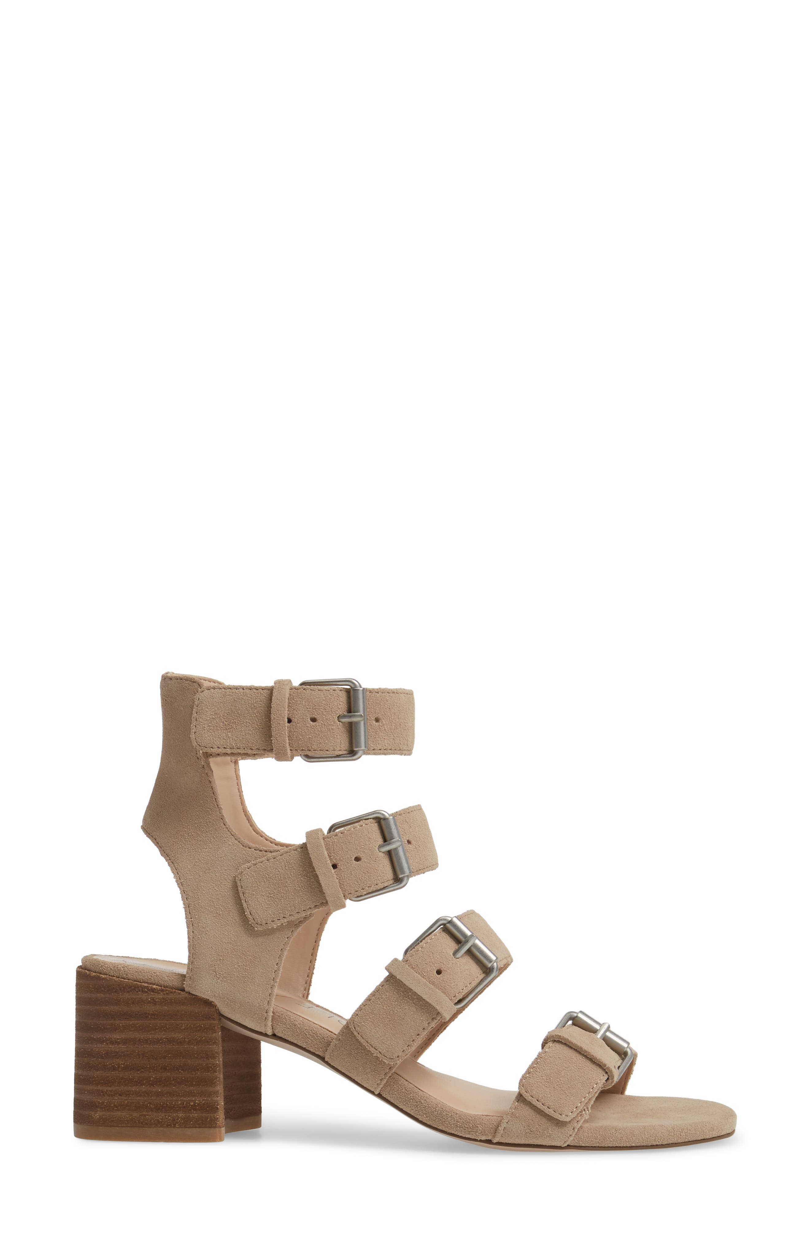 Culver Block Heel Sandal,                             Alternate thumbnail 6, color,