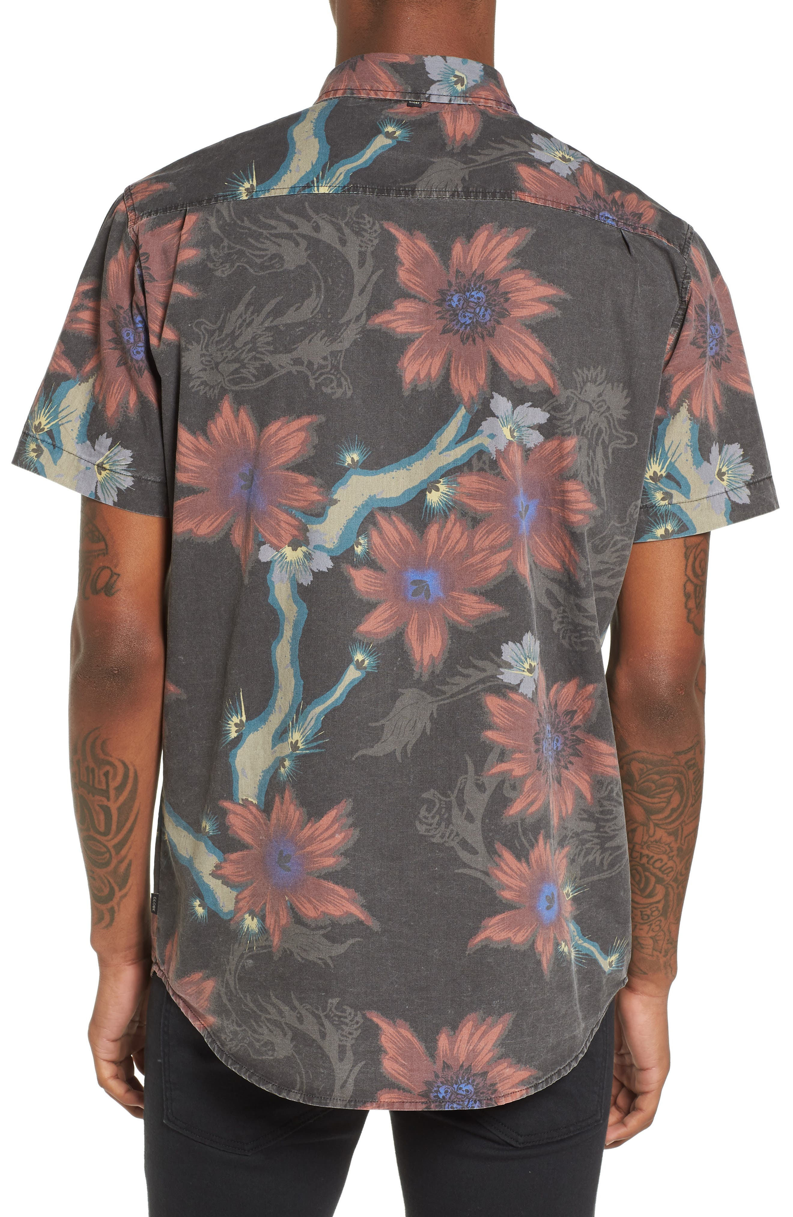 Vault Woven Shirt,                             Alternate thumbnail 2, color,                             001