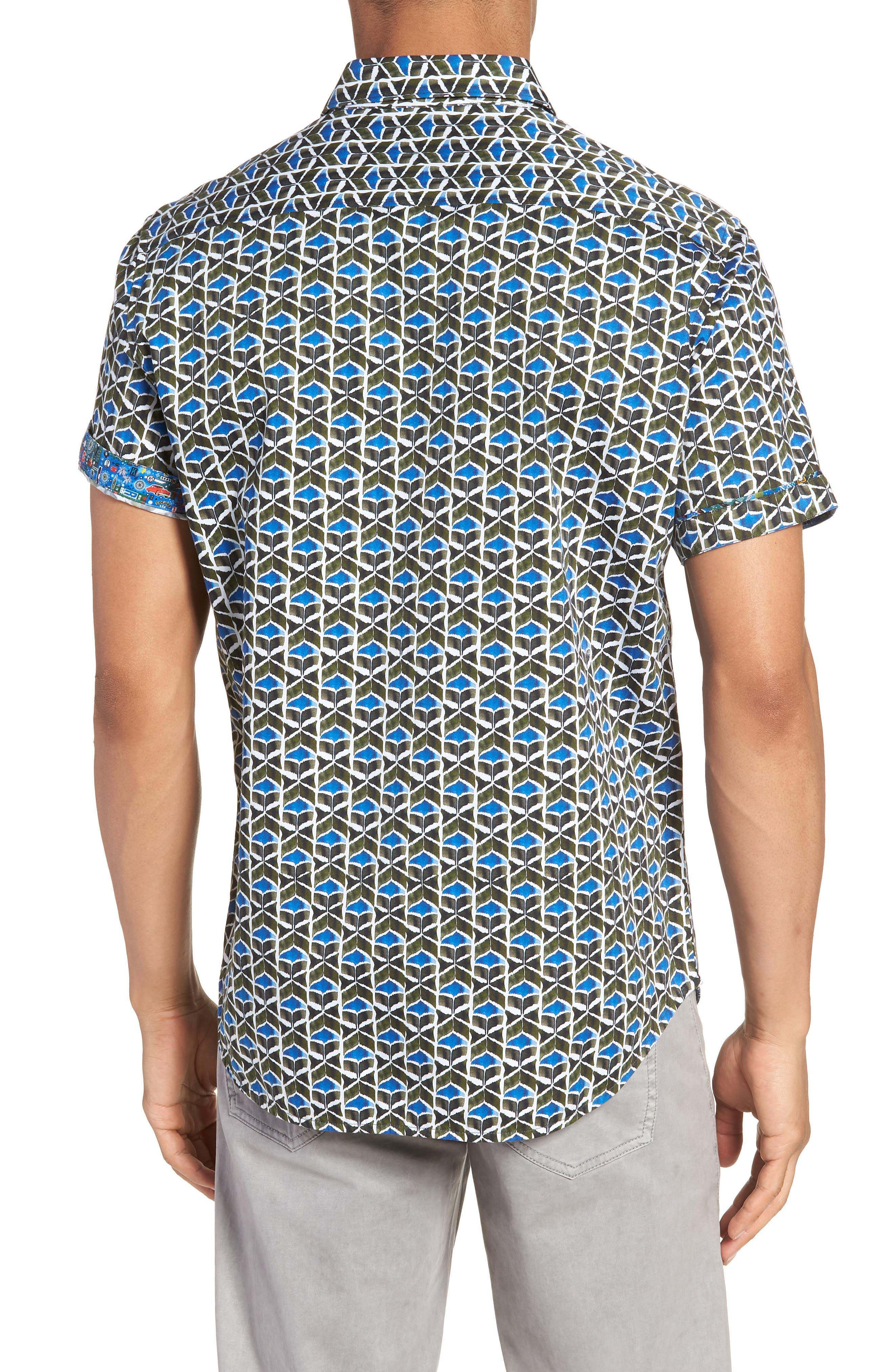 Tames Classic Fit Sport Shirt,                             Alternate thumbnail 2, color,                             300