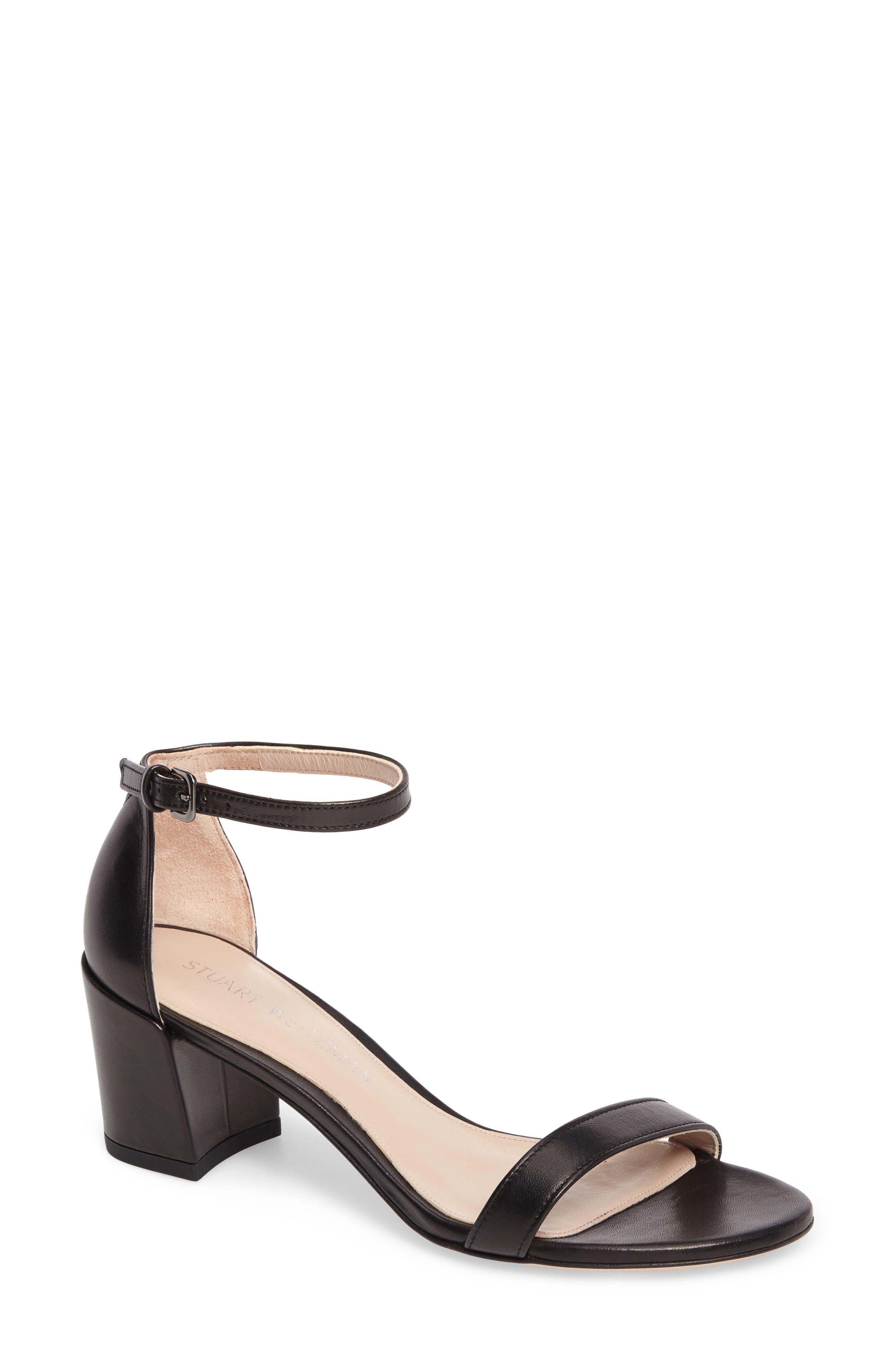 Simple Ankle Strap Sandal,                             Main thumbnail 1, color,                             002