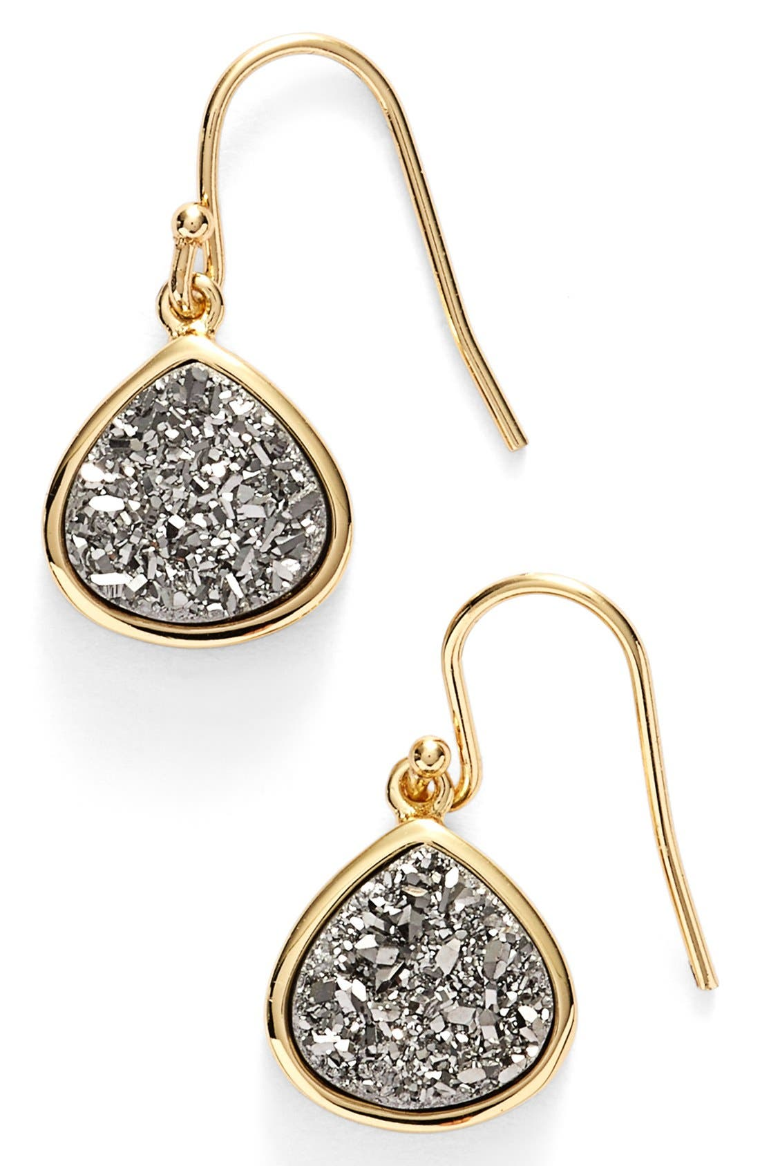 SONYARENEE Sonya Renee Drusy Teardrop Earrings, Main, color, 040