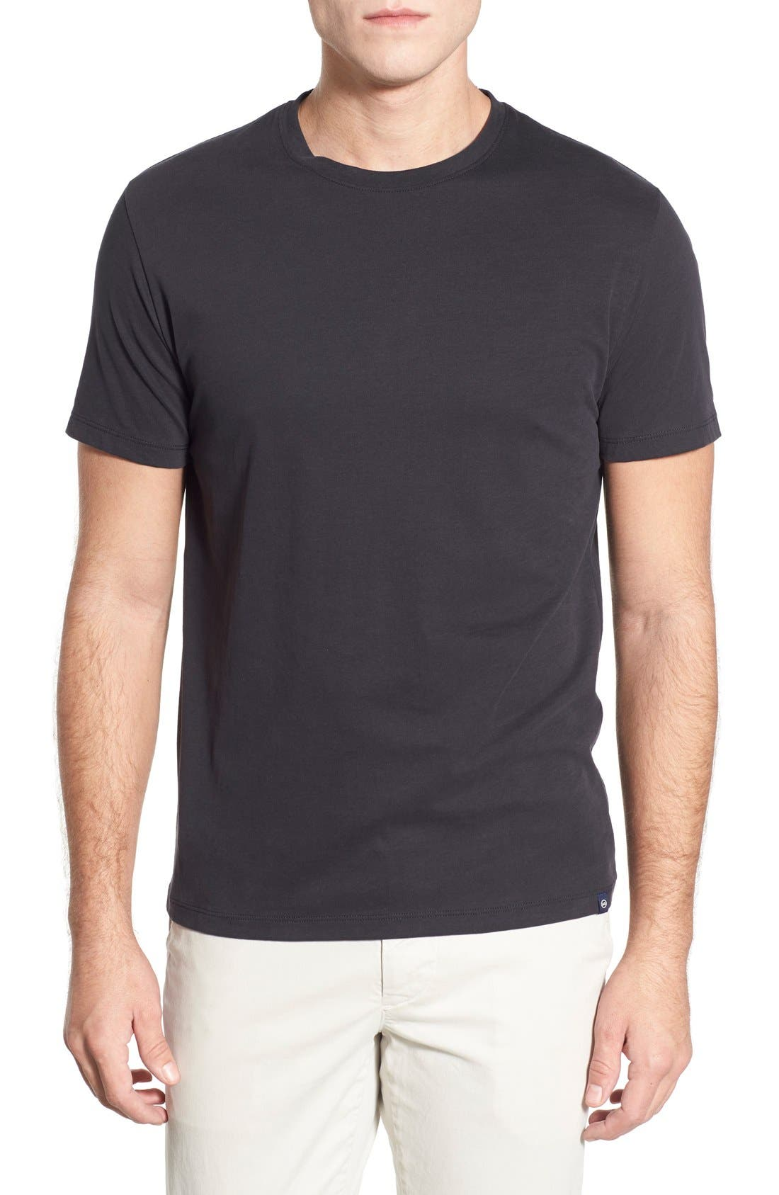 'Cliff' Crewneck T-Shirt,                         Main,                         color, 010