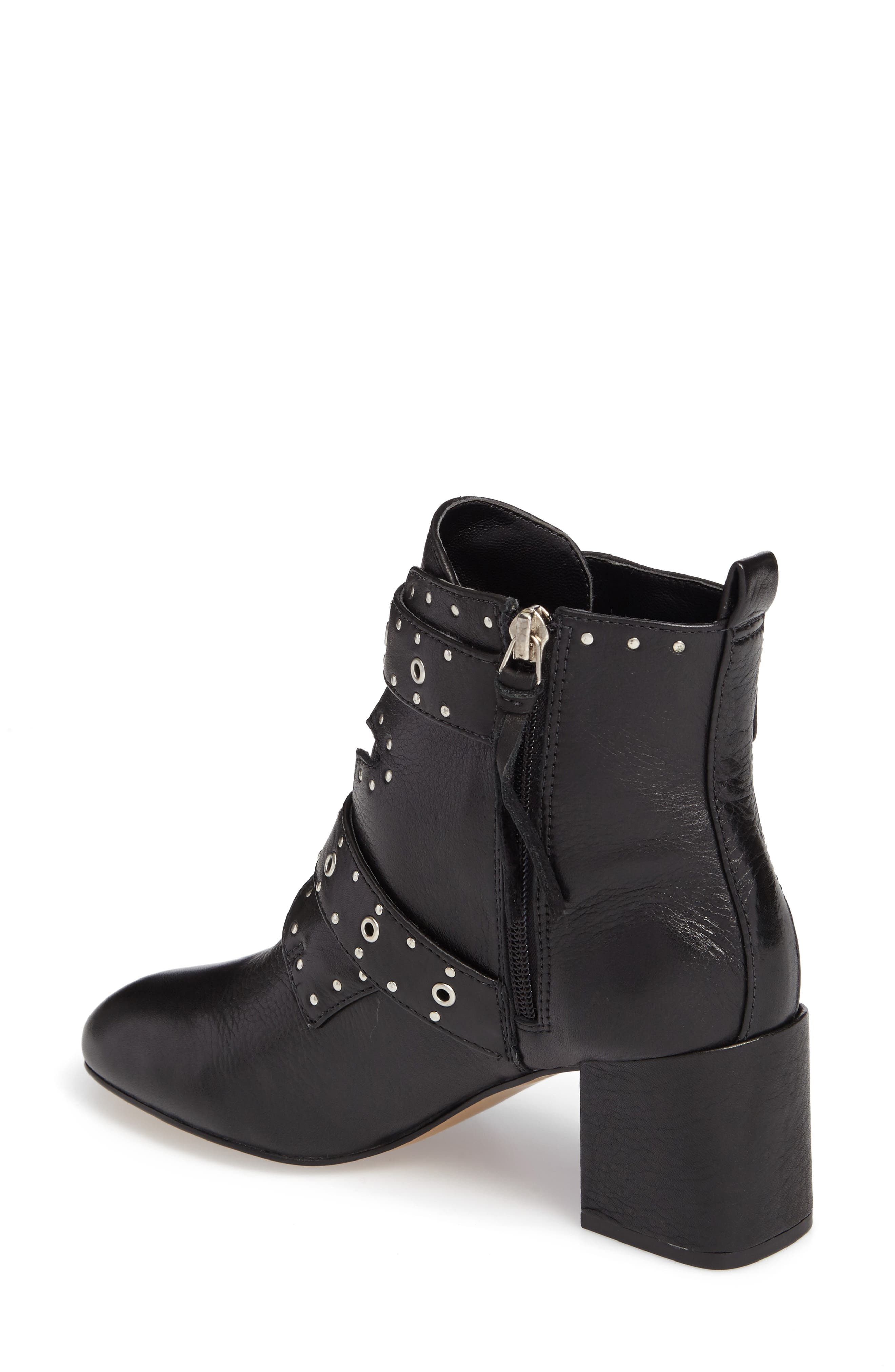 Logan Studded Bootie,                             Alternate thumbnail 2, color,                             001