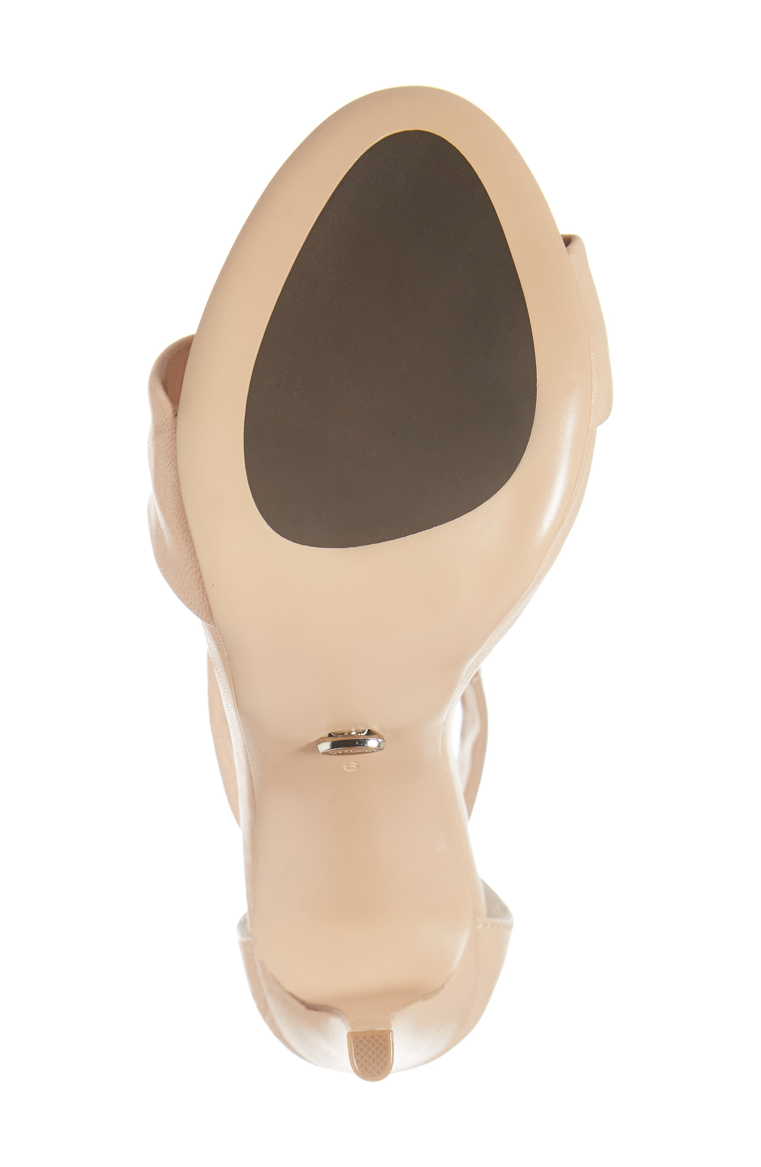Anabelle Sandal,                             Alternate thumbnail 6, color,                             BEIGE LEATHER