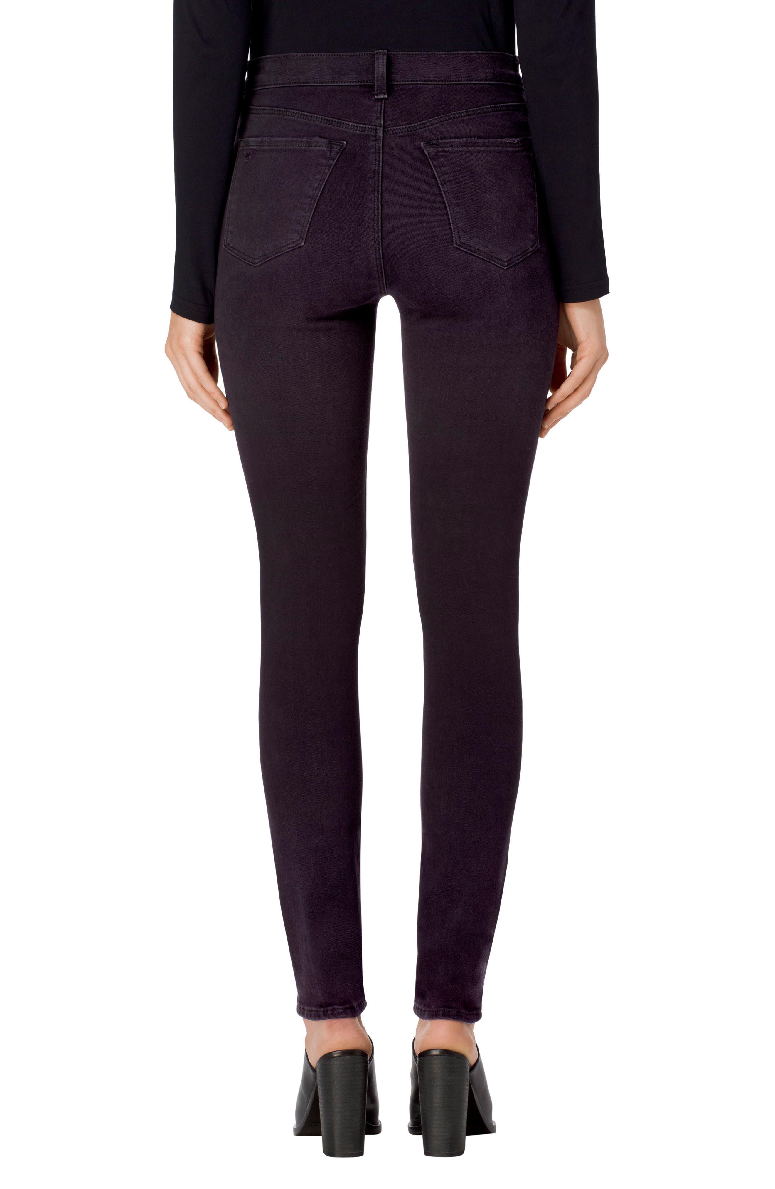 Maria High Waist Skinny Jeans,                             Alternate thumbnail 8, color,
