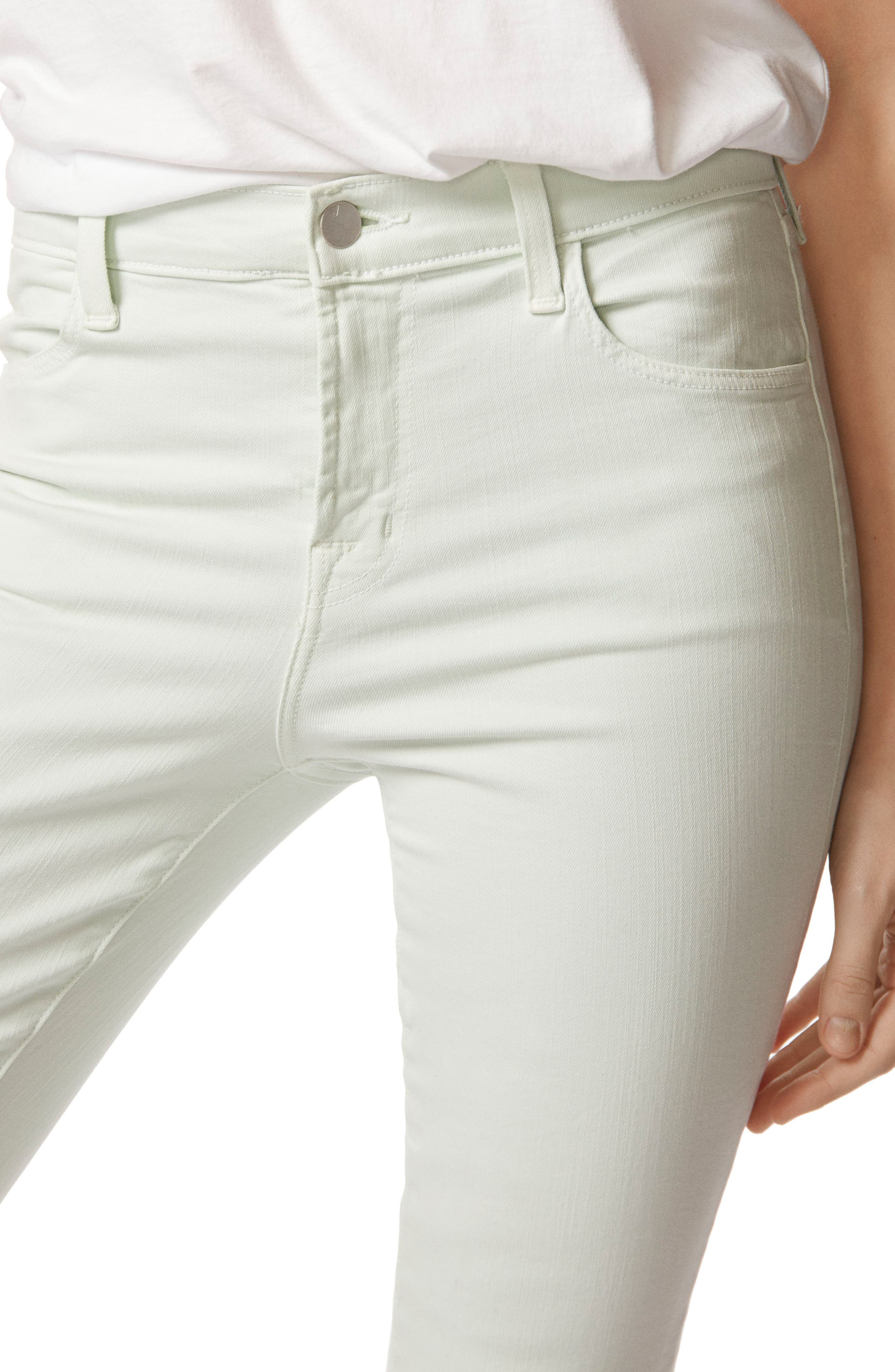 'Alana' High Rise Crop Skinny Jeans,                             Alternate thumbnail 5, color,                             336